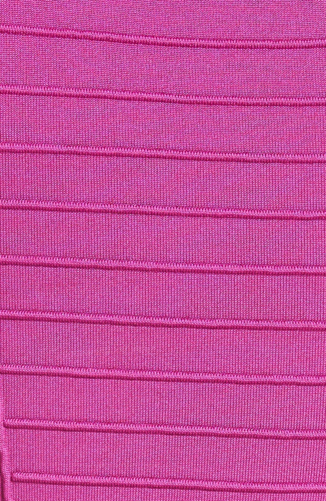 Alternate Image 3  - Armani Collezioni Micro Pipe Knit Dress