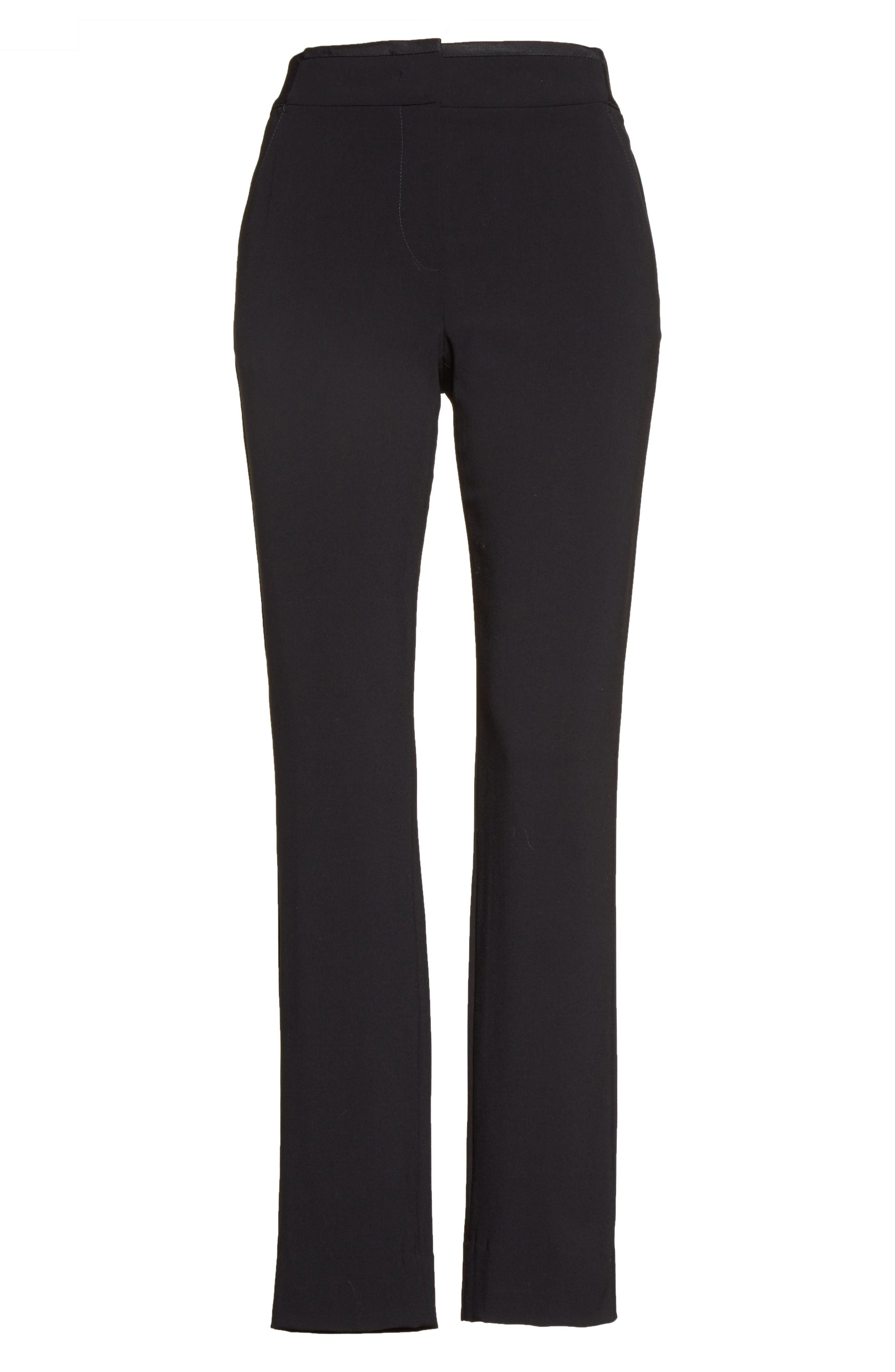 Alternate Image 4  - Armani Collezioni Stretch Wool Pants