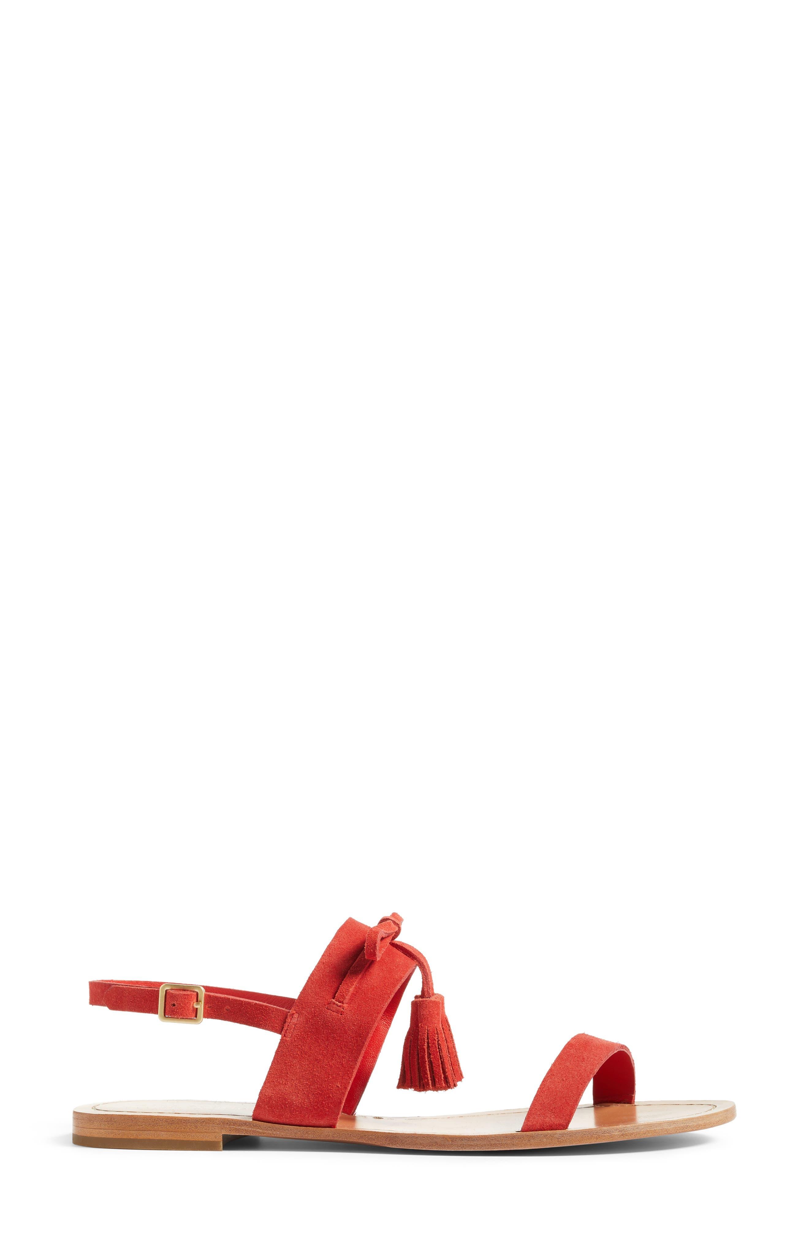 Alternate Image 3  - kate spade new york carlita tassel sandal (Women)