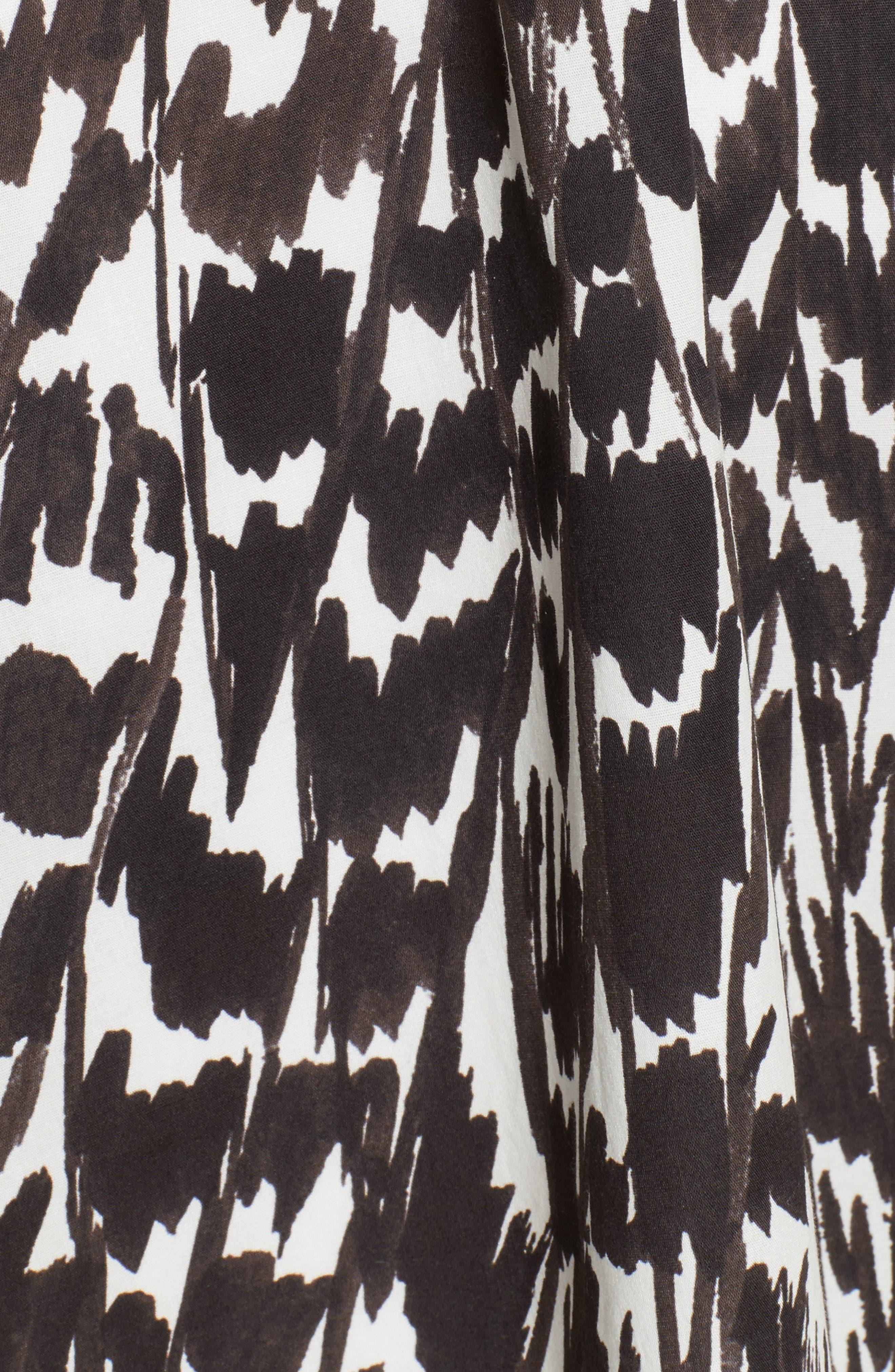 Circle Skirt,                             Alternate thumbnail 6, color,                             Black