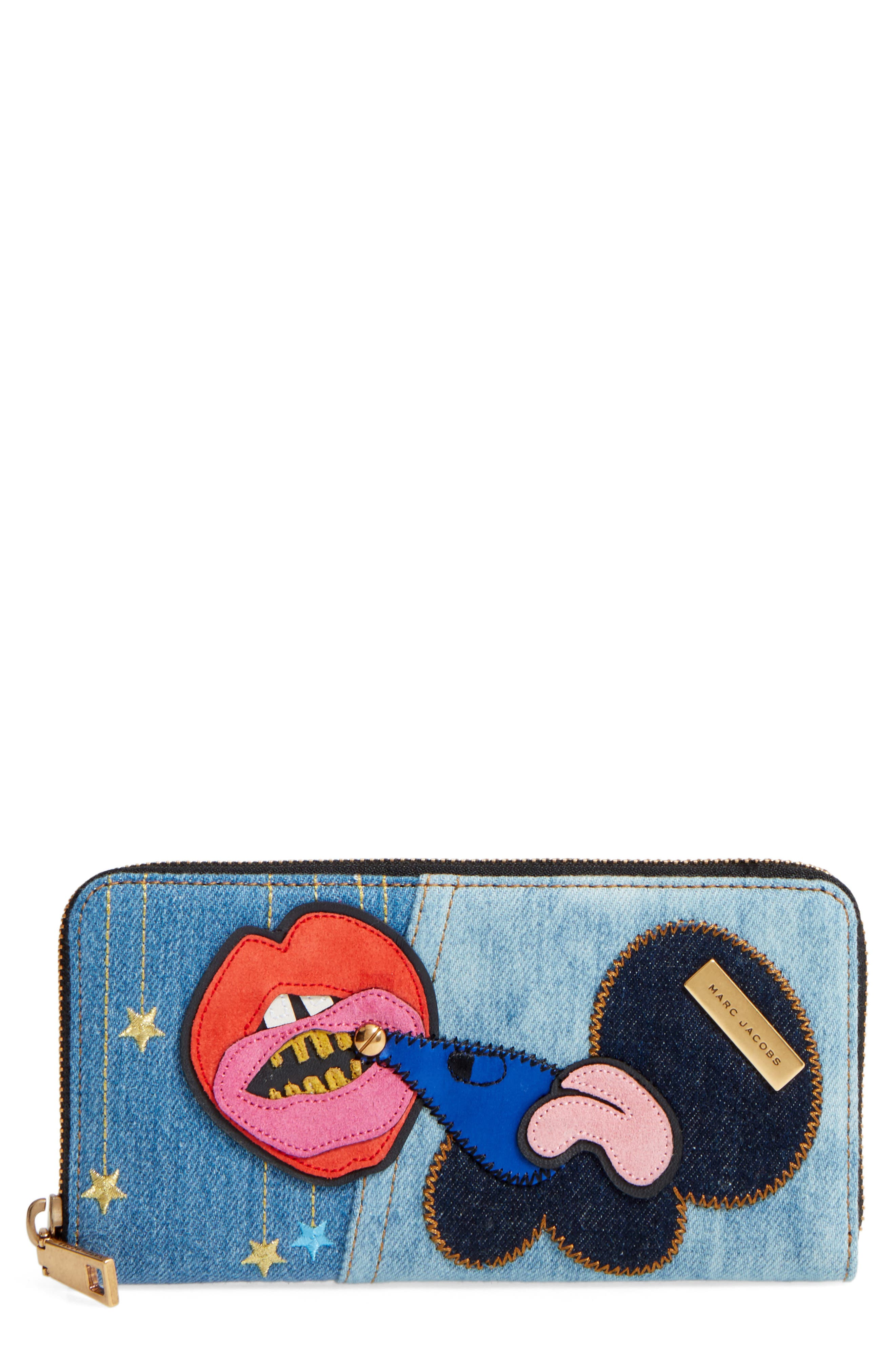 MARC JACOBS Denim Wallet