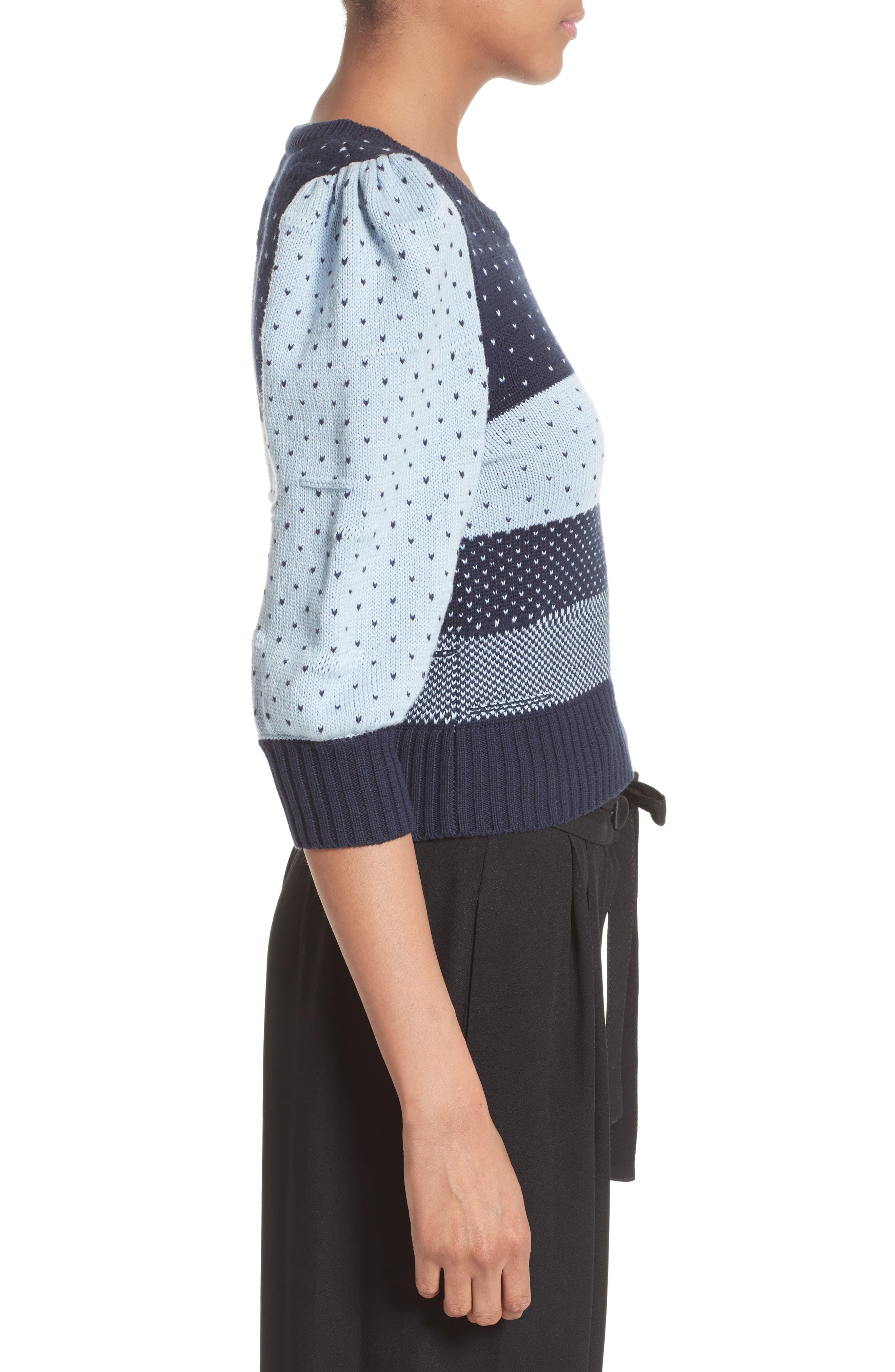 Alternate Image 5  - MARC JACOBS Cotton Jacquard Sweater