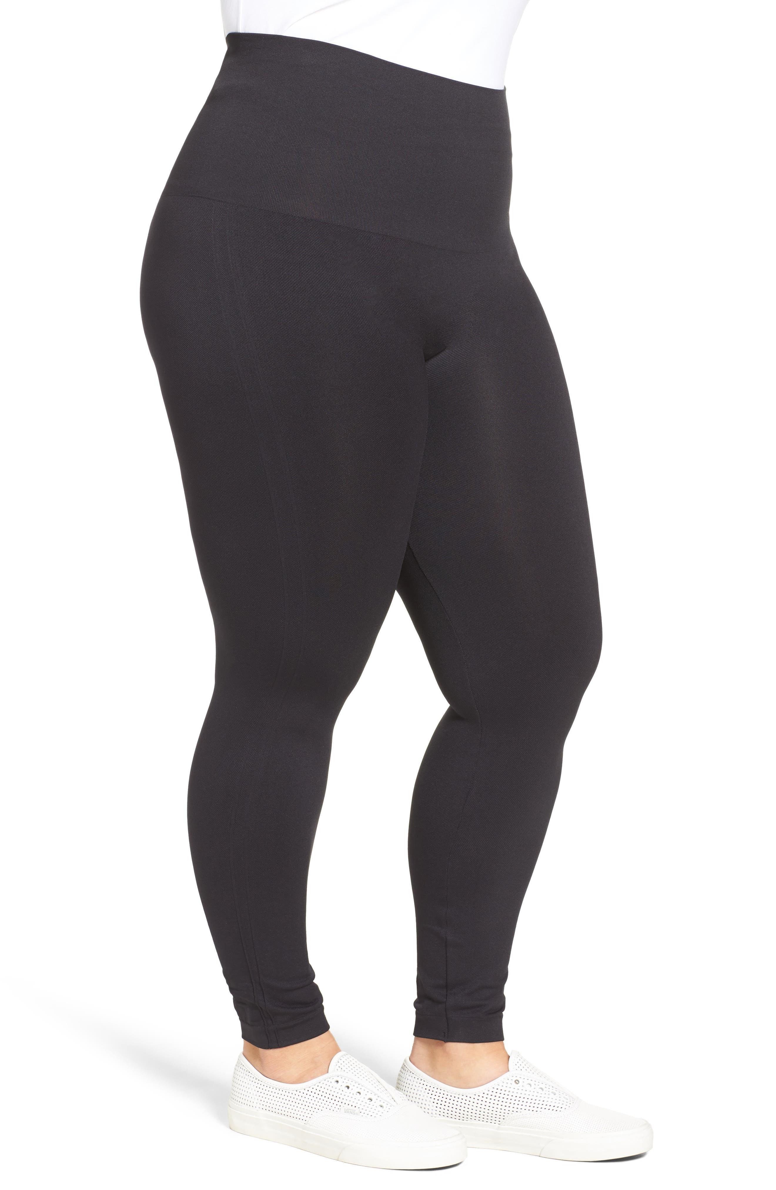 Alternate Image 3  - SPANX® Look At Me Now Seamless Leggings (Plus Size)