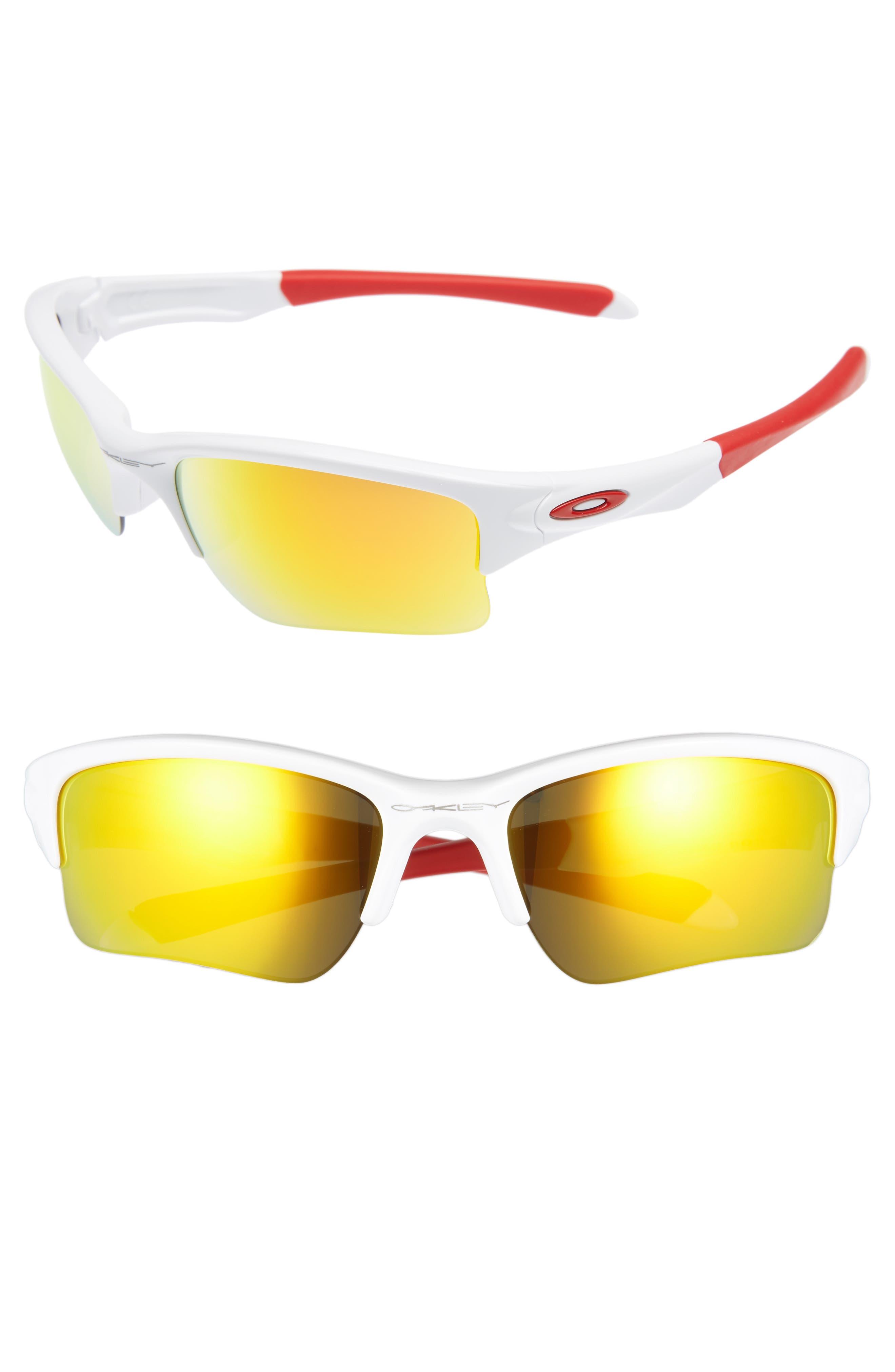 Oakley Quarter Jacket PRIZM™ 61mm Semi-Rimless Sunglasses