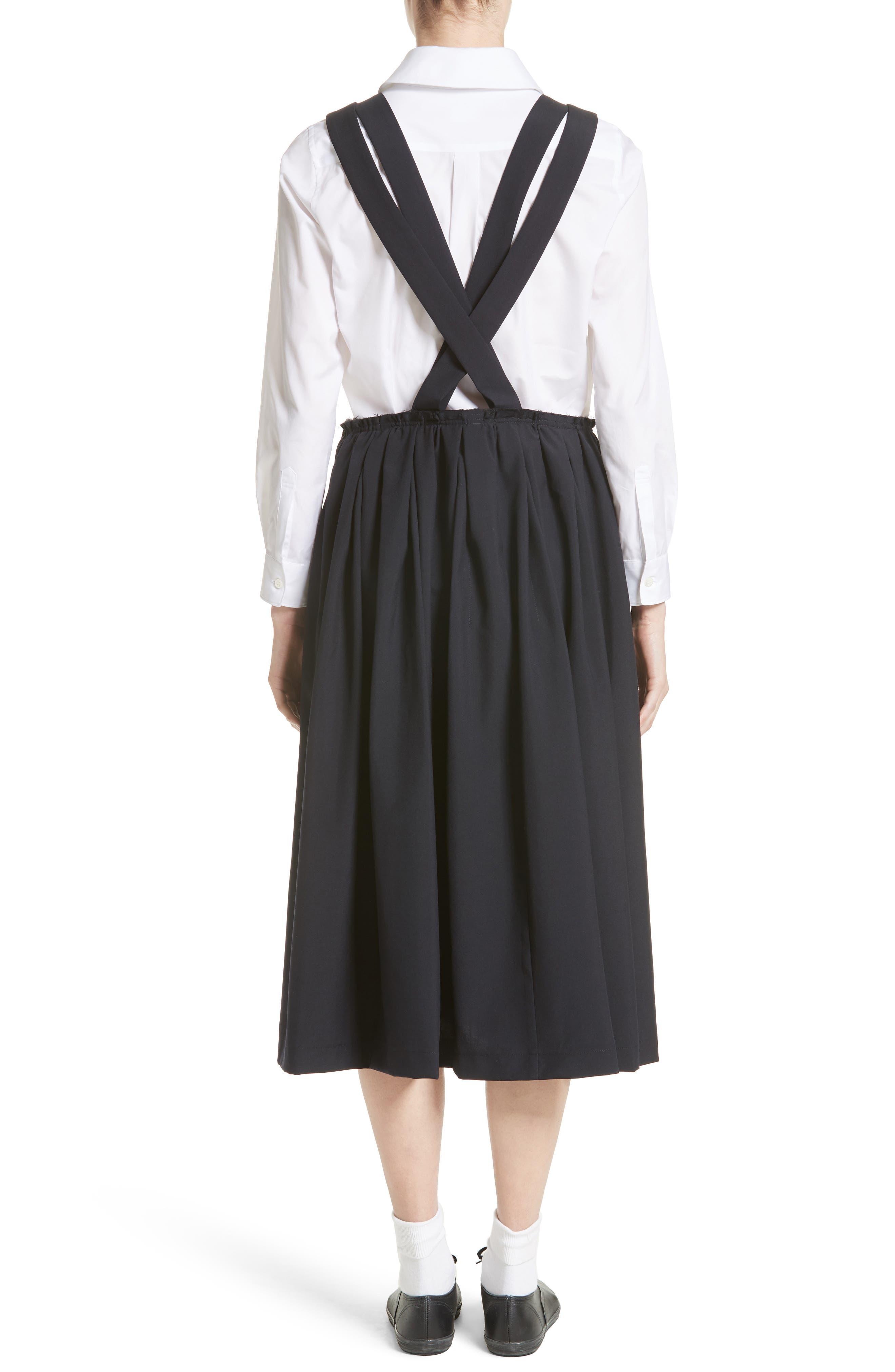 Alternate Image 2  - Comme des Garçons Tropical Wool Overall Dress