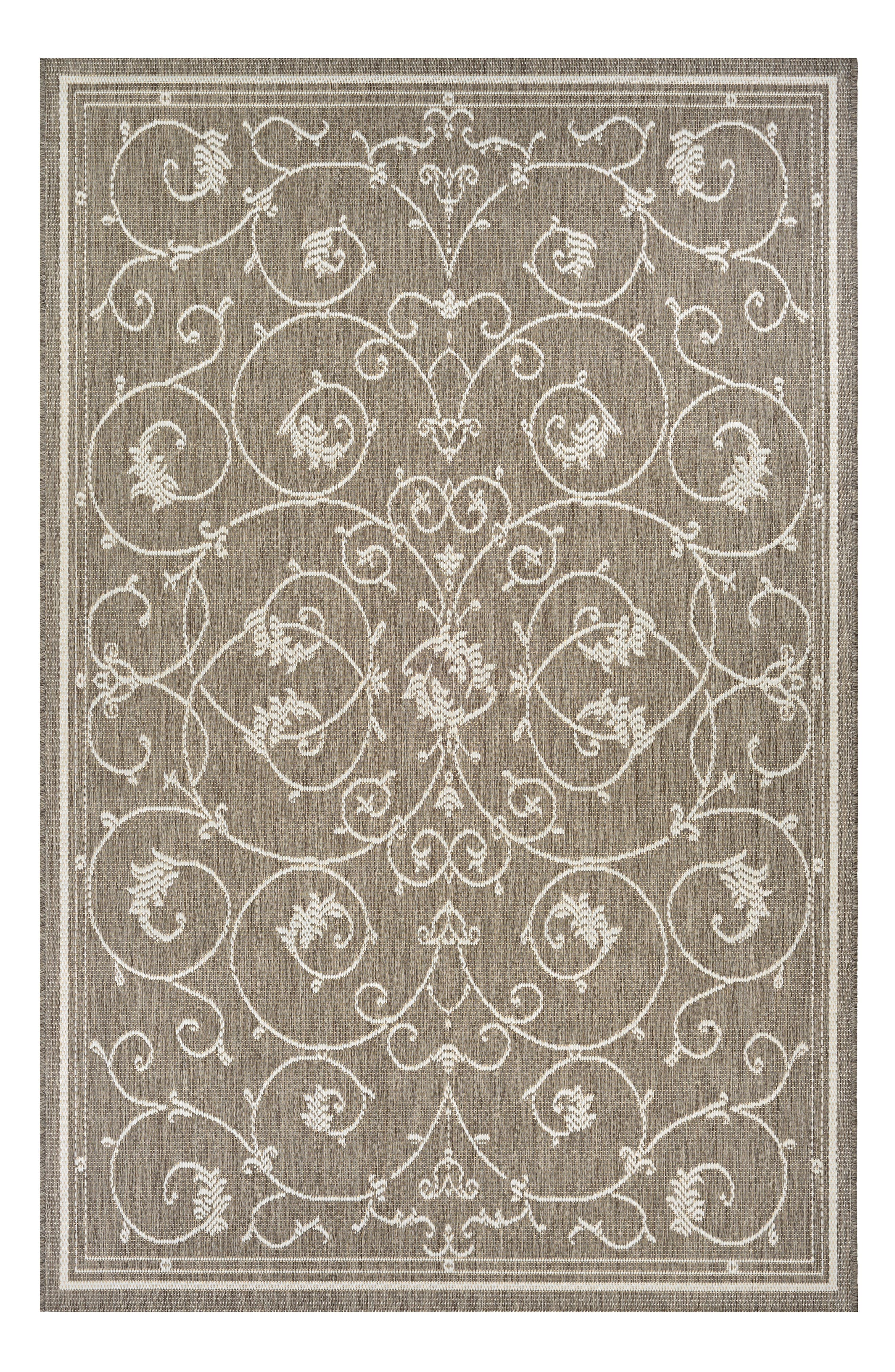 Veranda Indoor/Outdoor Rug,                         Main,                         color, Champagne/ Taupe