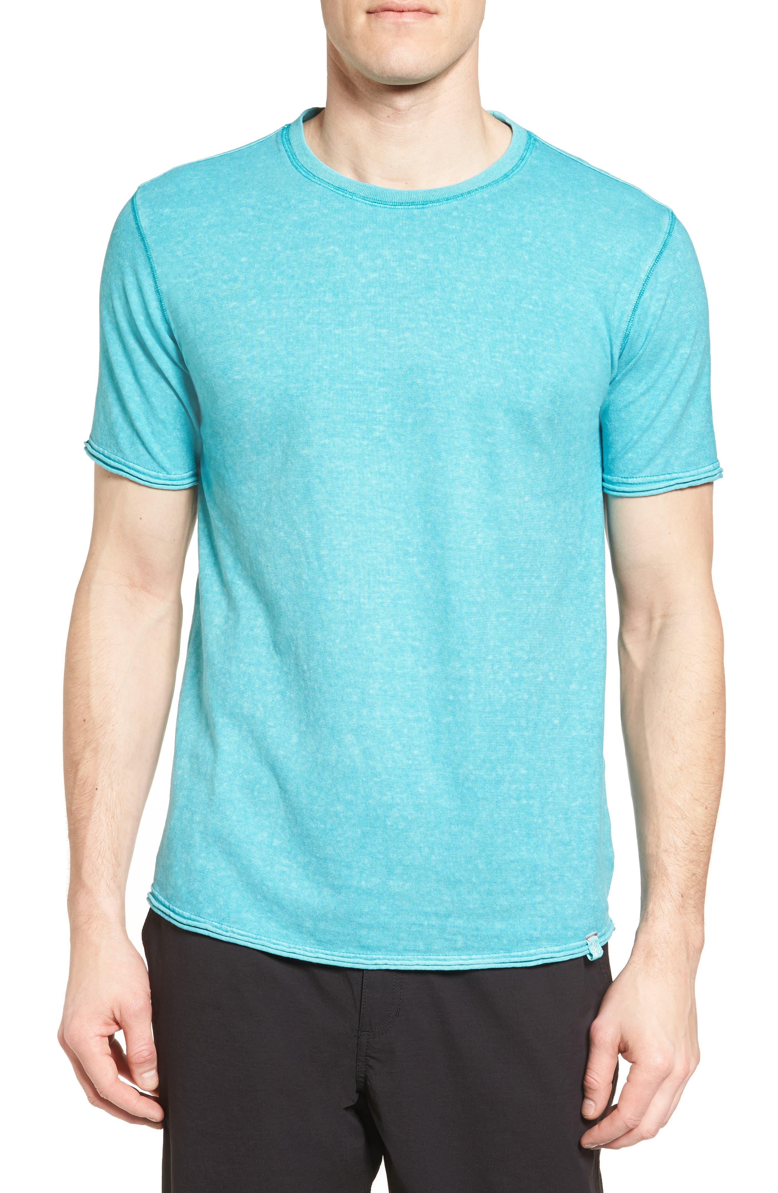 Camura T-Shirt,                         Main,                         color, Fiji Blue