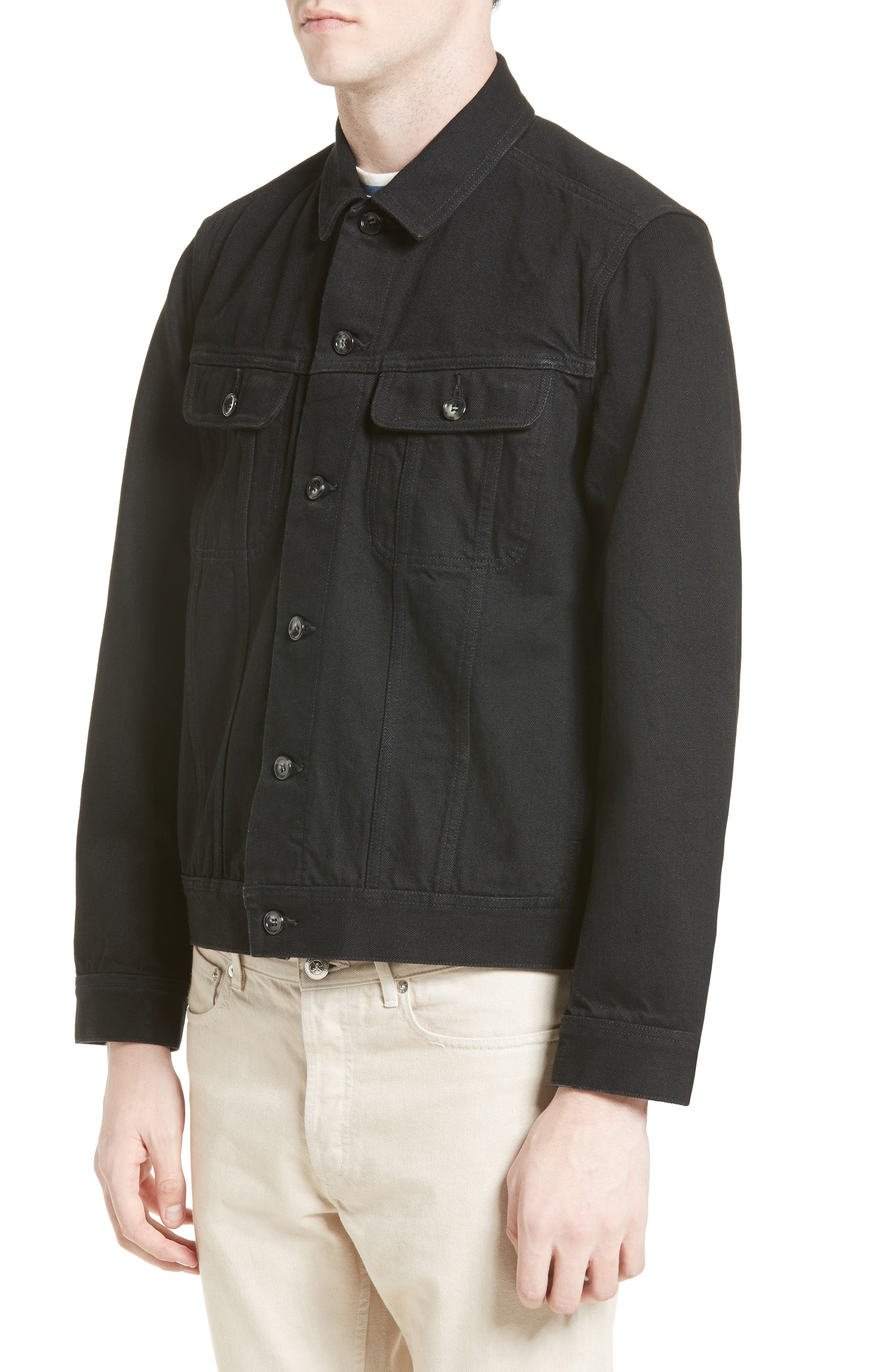 Alternate Image 4  - A.P.C. Veste Benjamin Denim Jacket