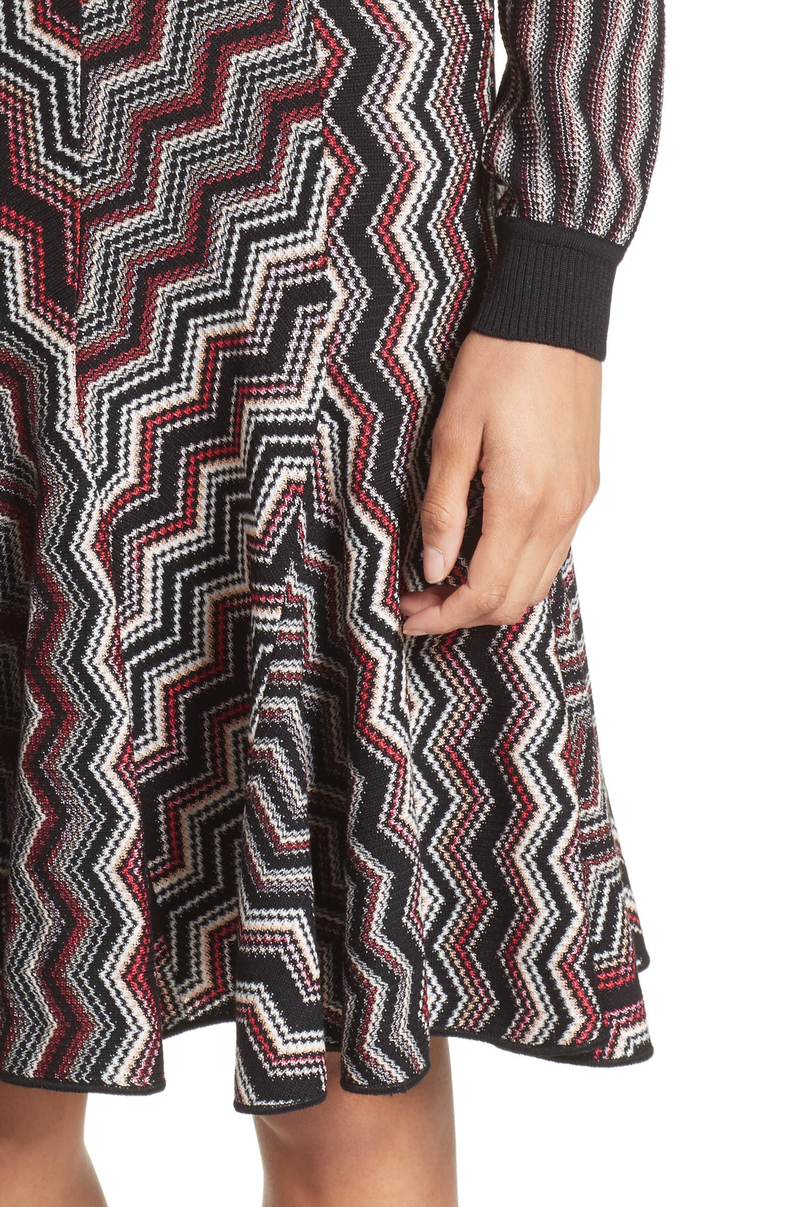 Alternate Image 6  - Missoni Patchwork Wool Blend Knit Dress