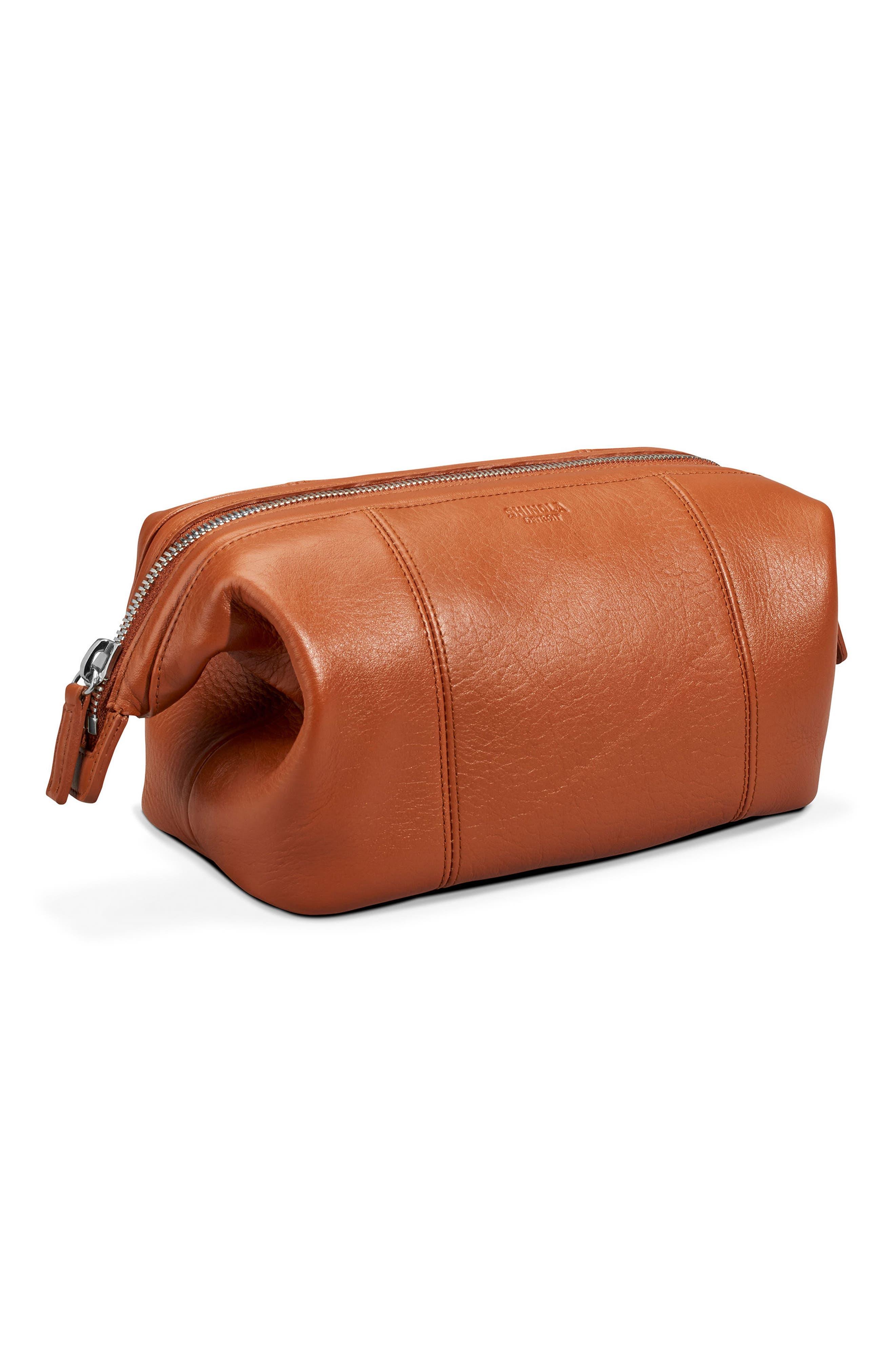 Alternate Image 4  - Shinola Leather Travel Kit