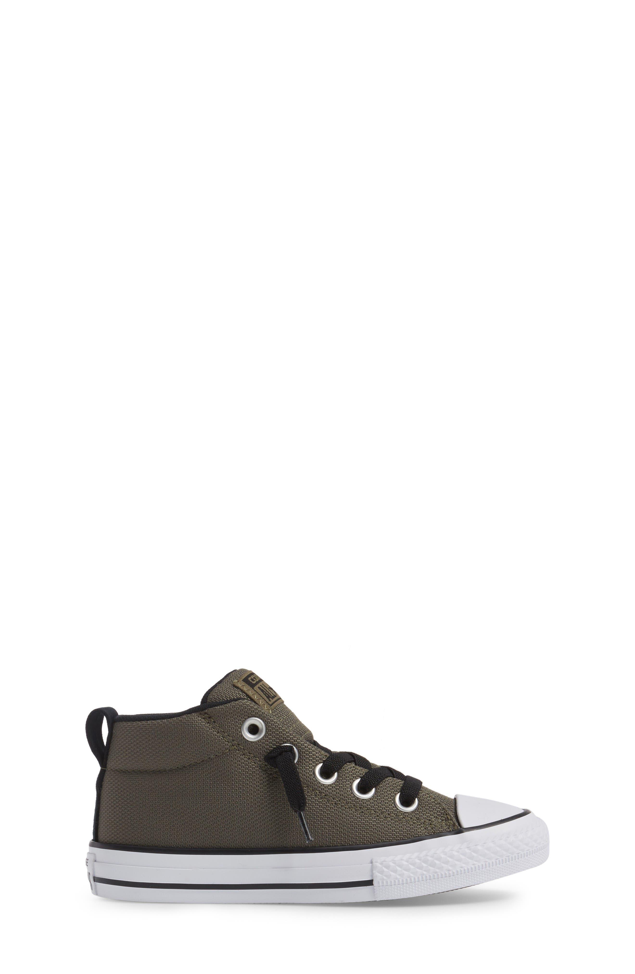 Alternate Image 3  - Converse Chuck Taylor® All Star® Basket Weave Street Mid Sneaker (Toddler, Little Kid & Big Kid)