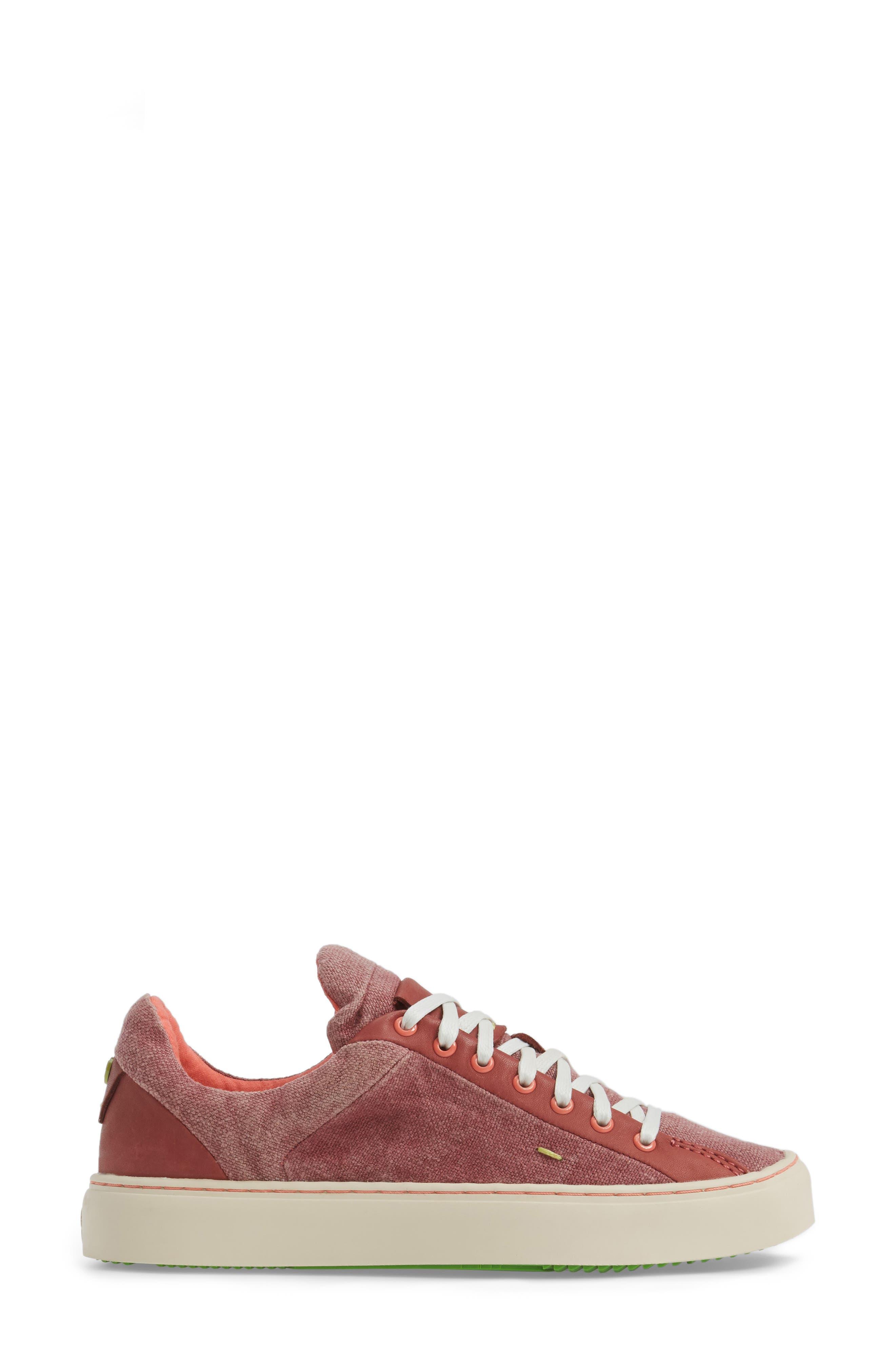 Somerville Sneaker,                             Alternate thumbnail 3, color,                             Sandalwood Fabric