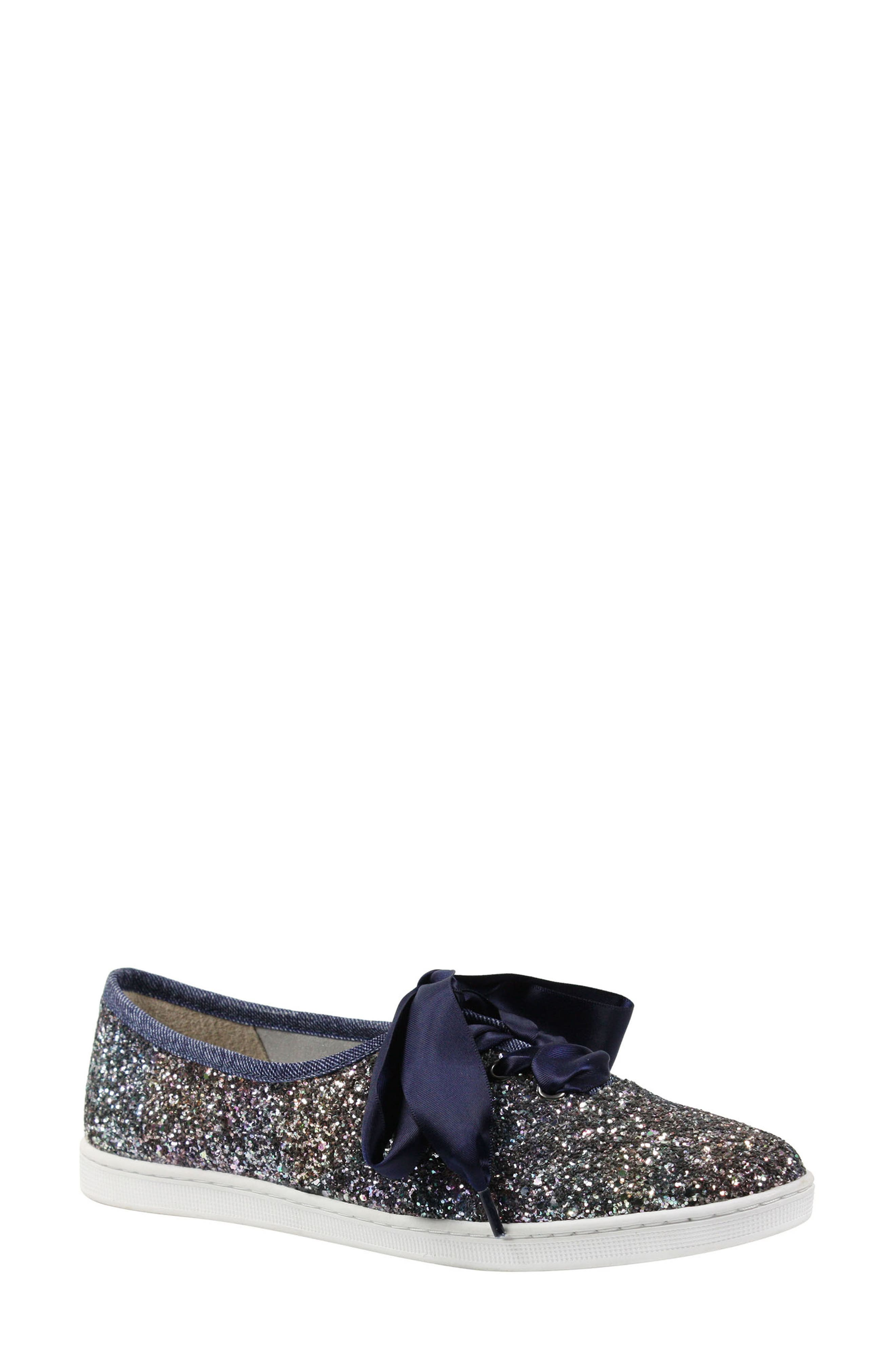 Alternate Image 1 Selected - J. Reneé Shimmo Bow Sneaker (Women)