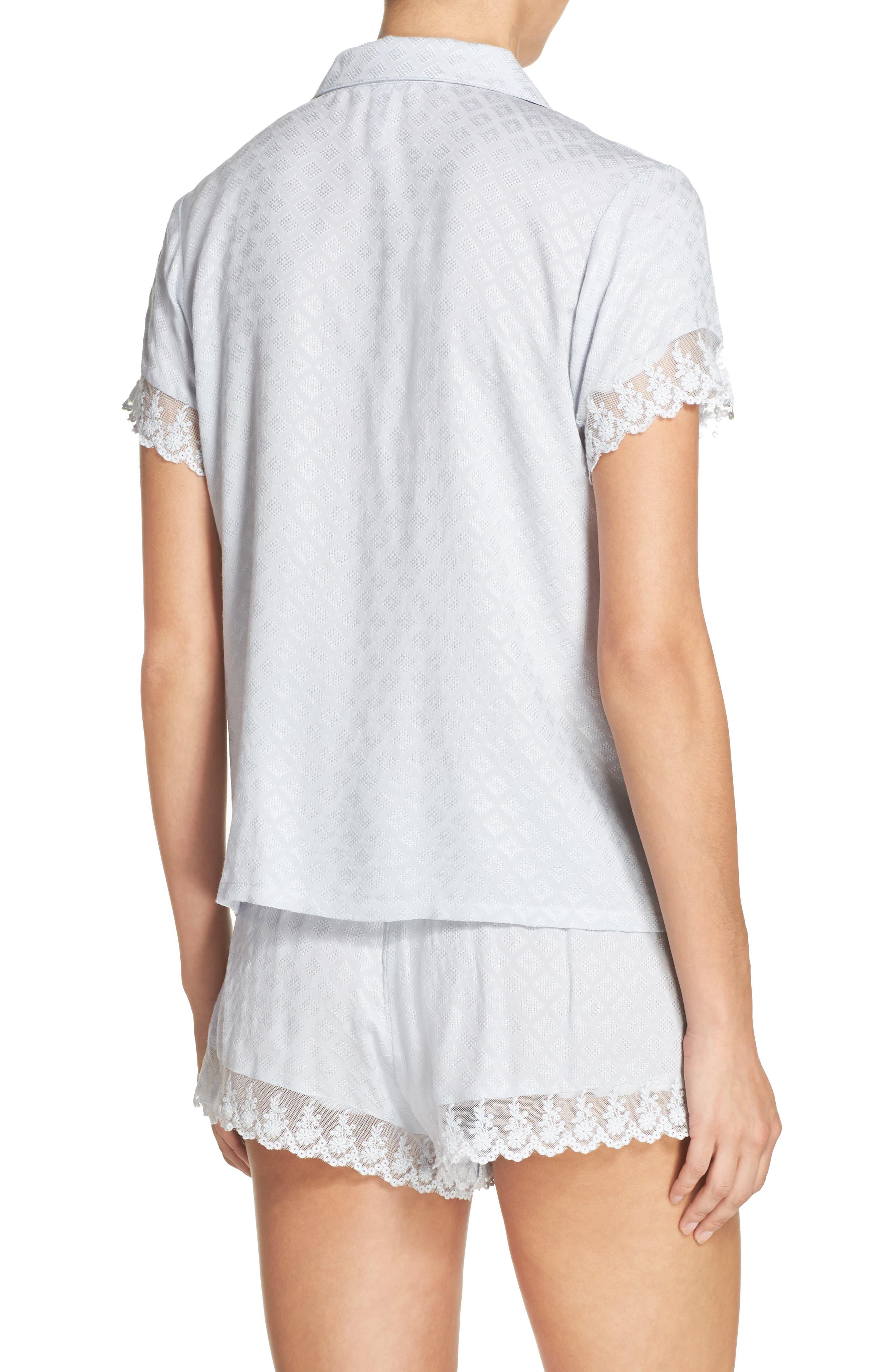 Alternate Image 2  - Flora Nikrooz Laurel Short Pajamas
