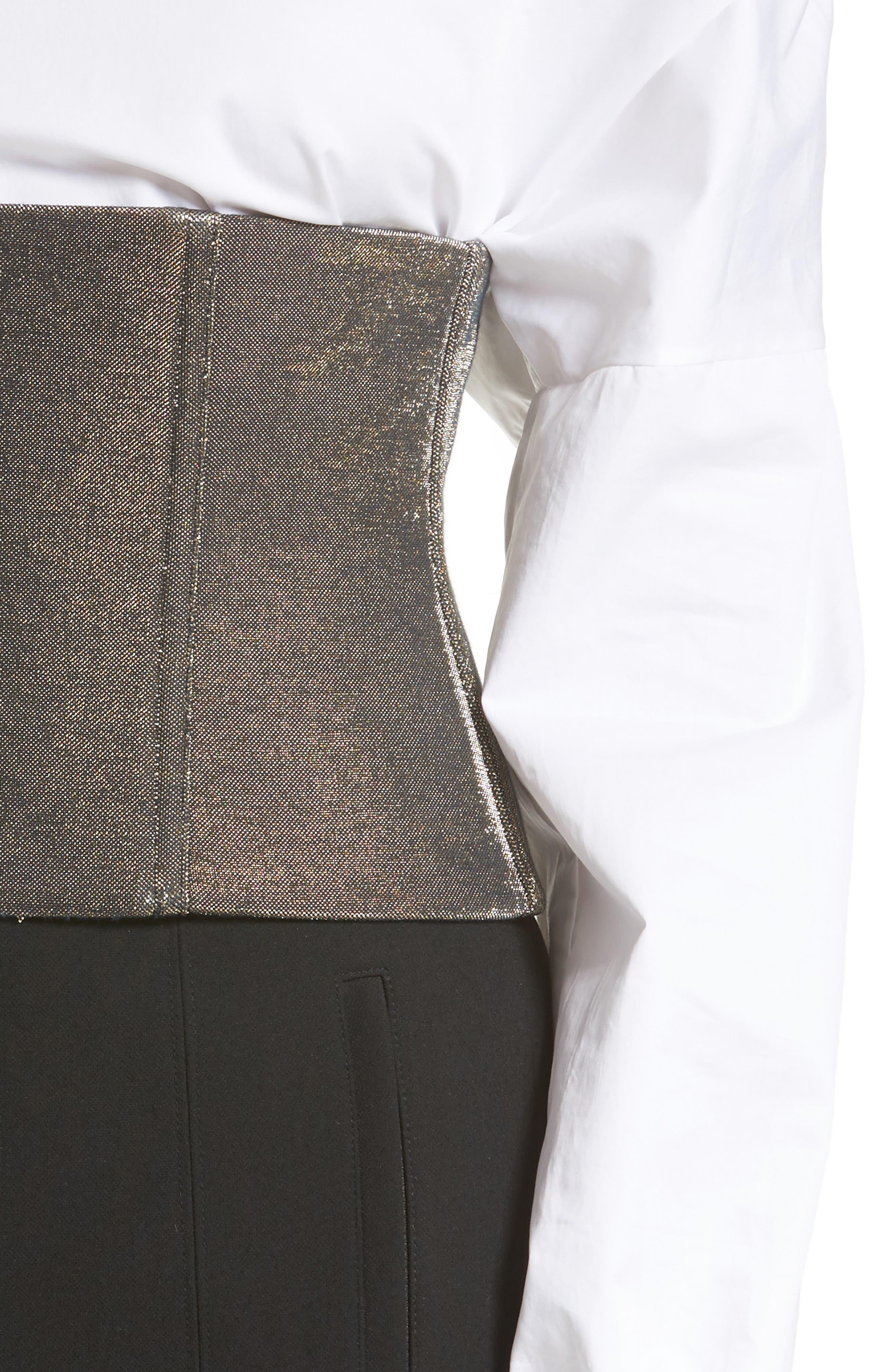 Alternate Image 6  - Tibi Refined Zip Corset