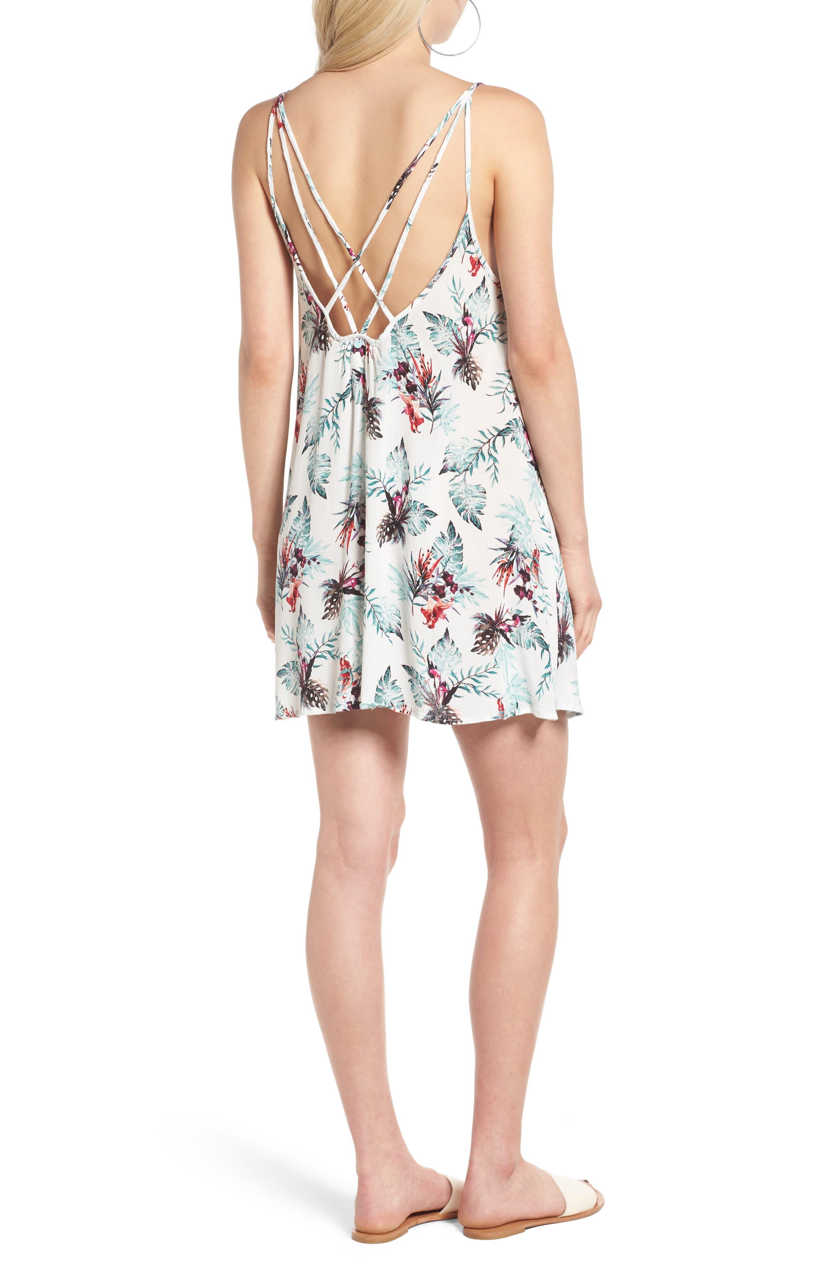 Alternate Image 2  - Roxy Windy Fly Away Swing Dress