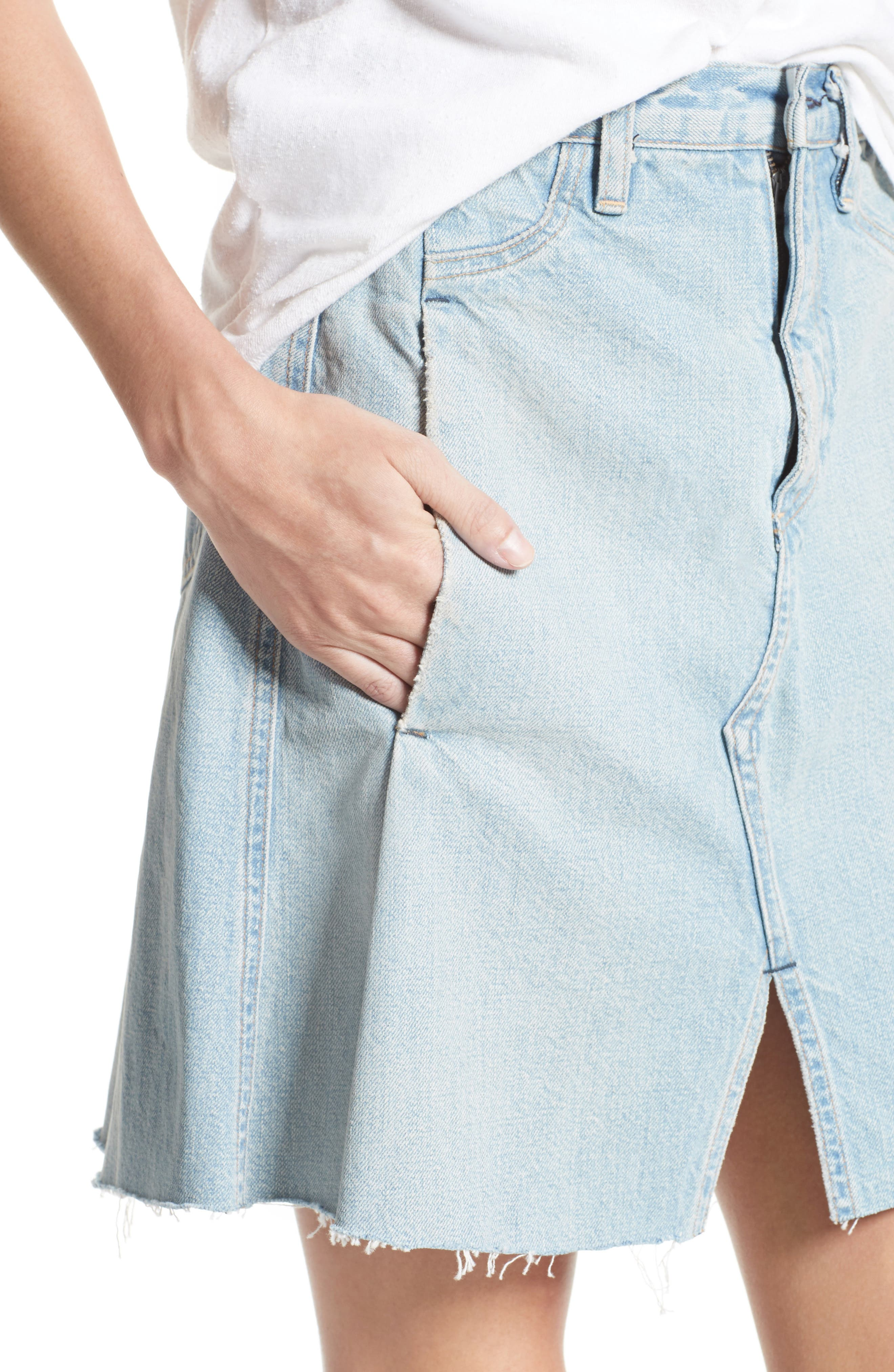 Alternate Image 5  - Simon Miller Denim Skirt (Nordstrom Exclusive)