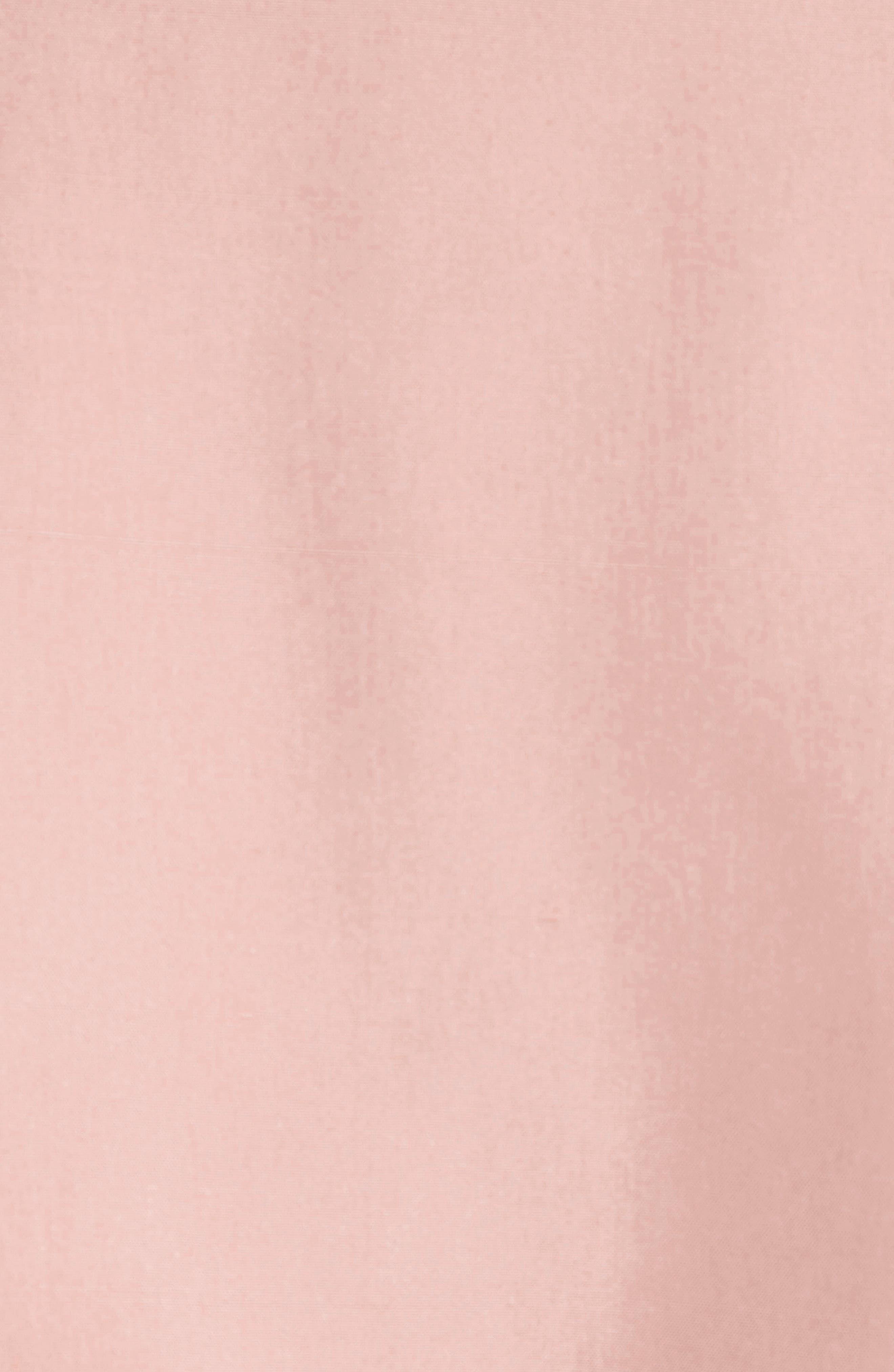 Alternate Image 3  - Burberry Sanbridge Silk Wrap Coat