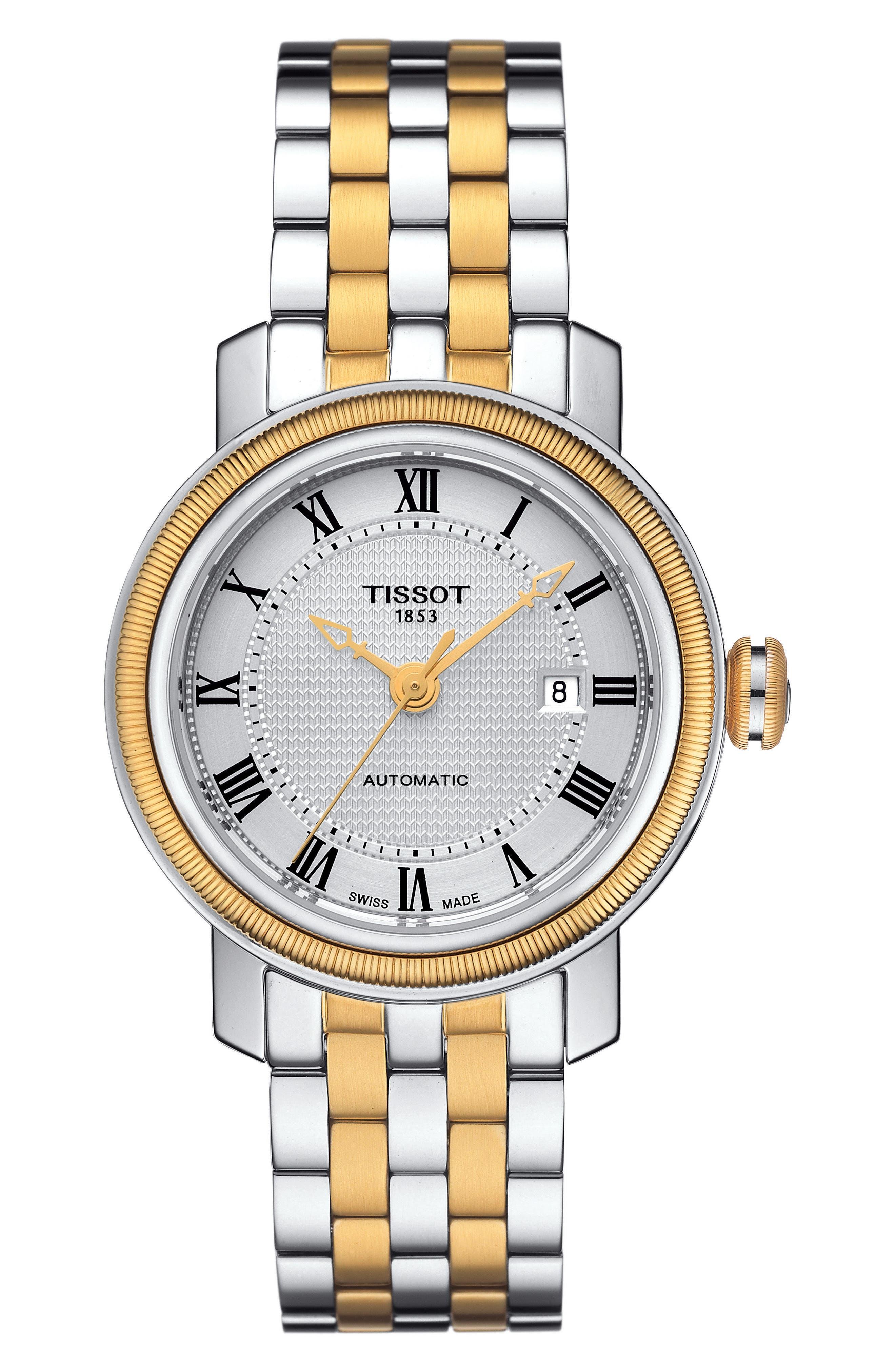 Tissot Bridgeport Automatic Bracelet Watch, 29mm