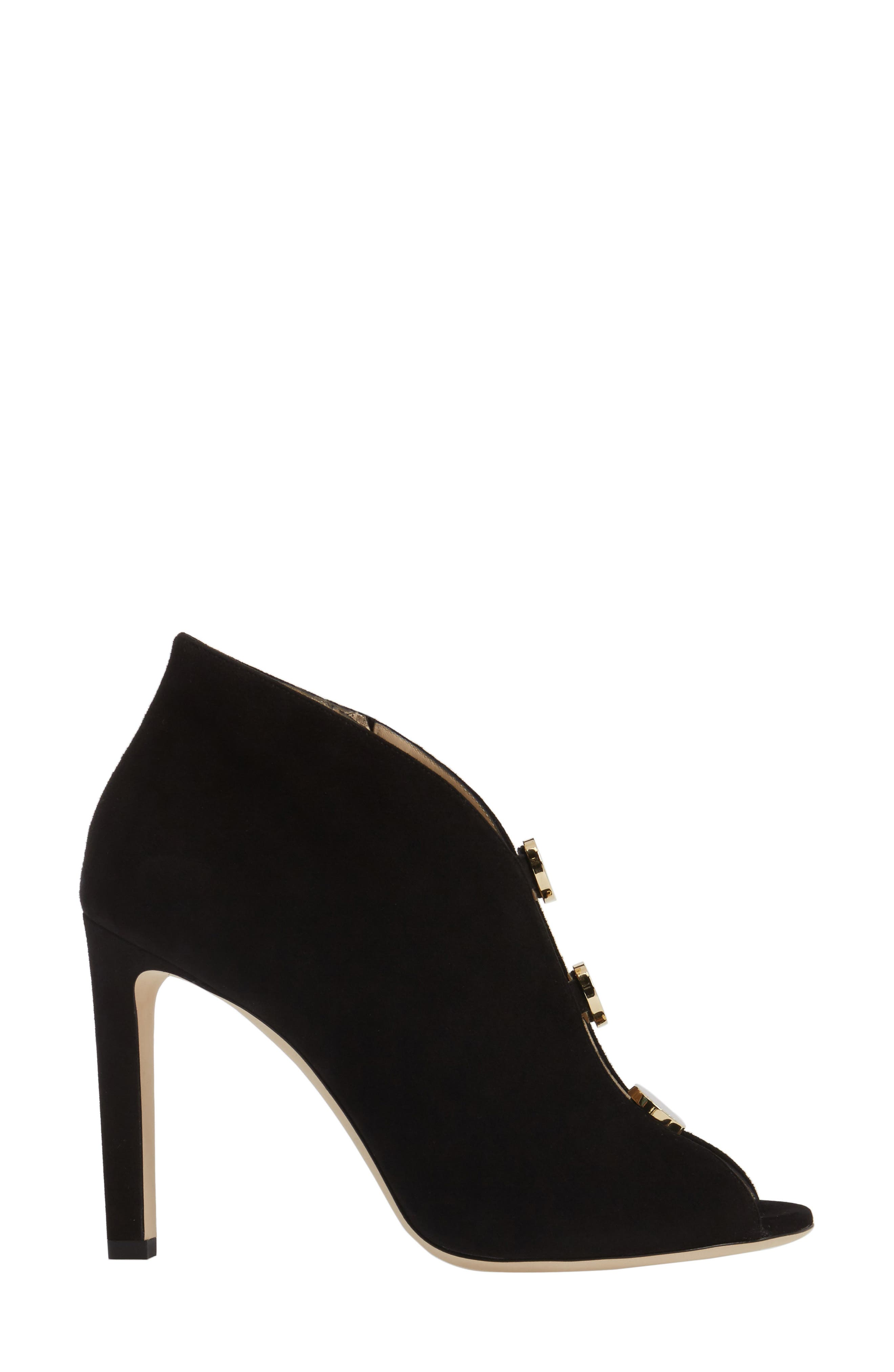 Alternate Image 3  - Jimmy Choo Lorna Button Open-Toe Bootie