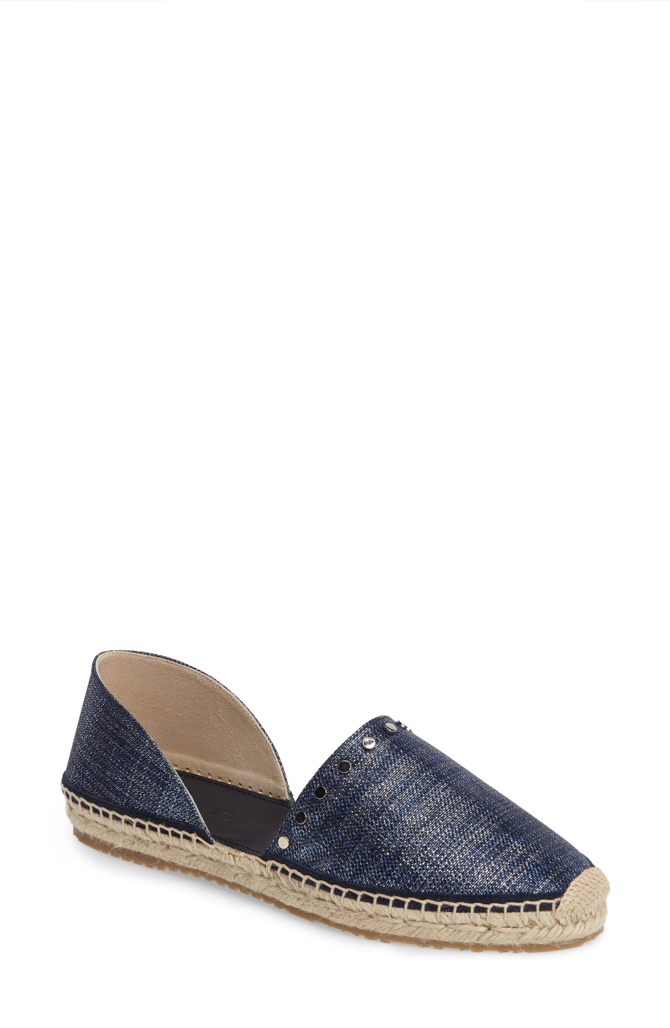 Alternate Image 1 Selected - Jimmy Choo Split Espadrille Flat (Women)