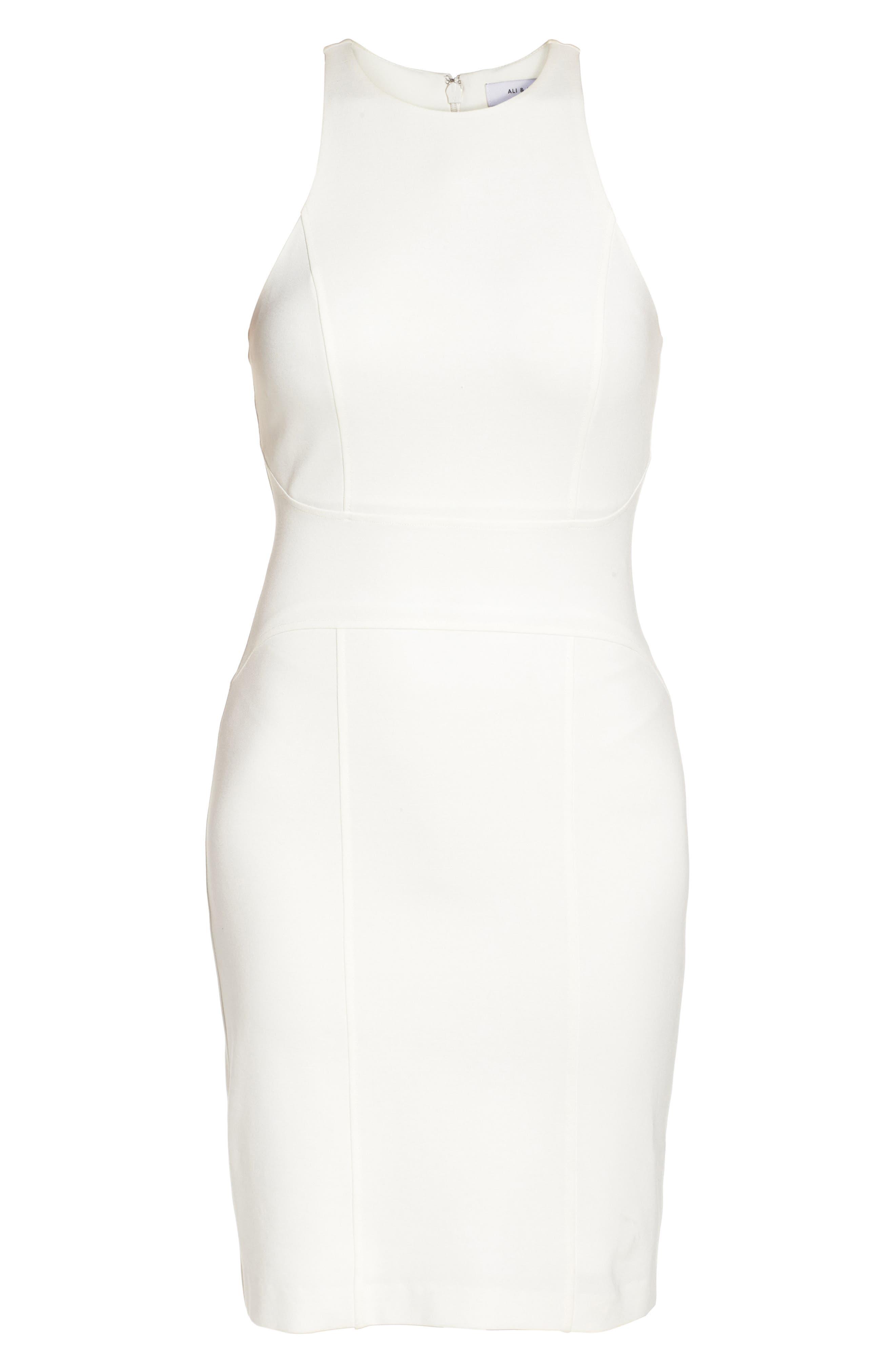 You Ruin Me Body-Con Dress,                             Alternate thumbnail 9, color,                             White