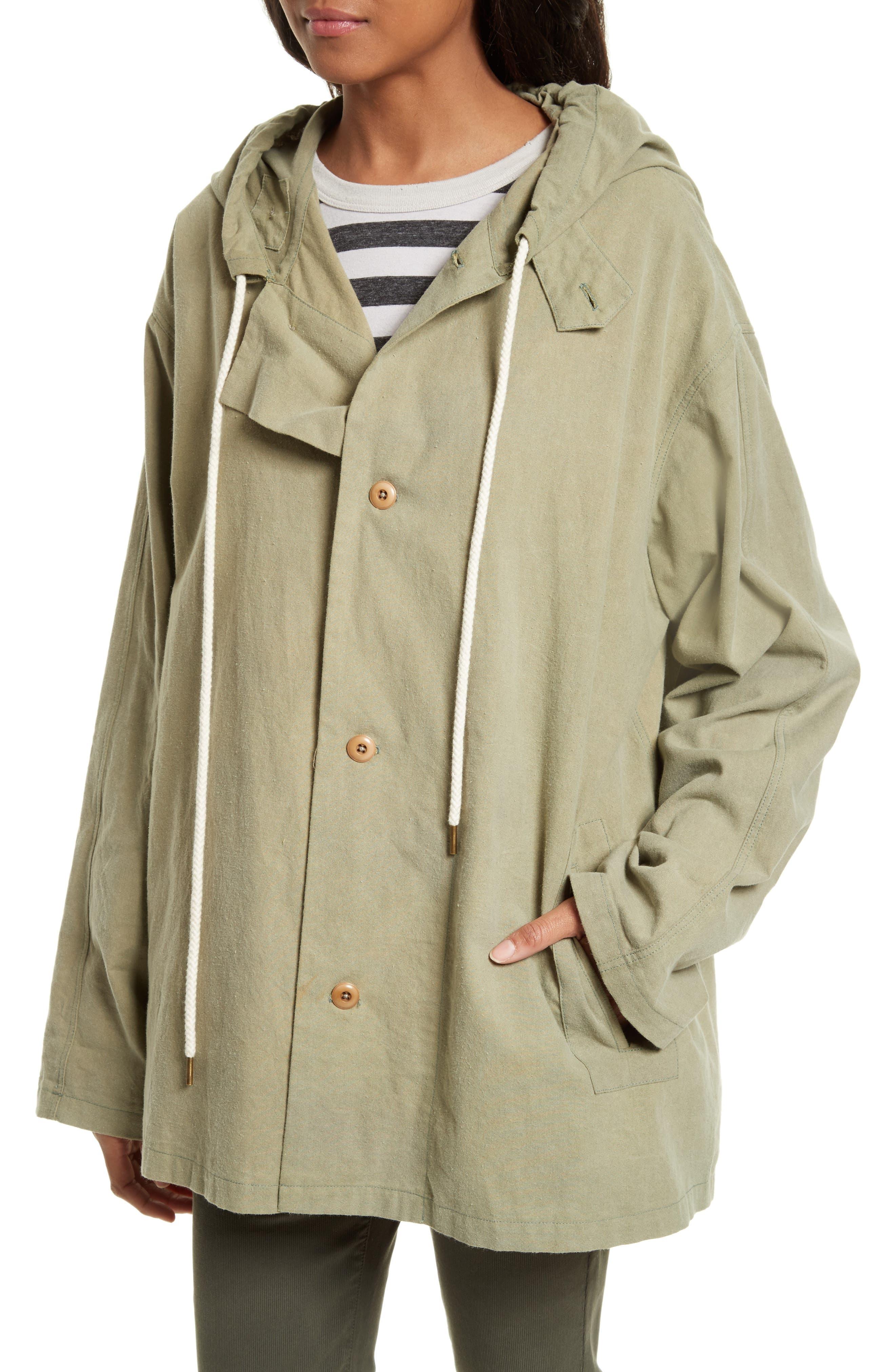 The Parka Jacket,                             Alternate thumbnail 5, color,                             Pale Army