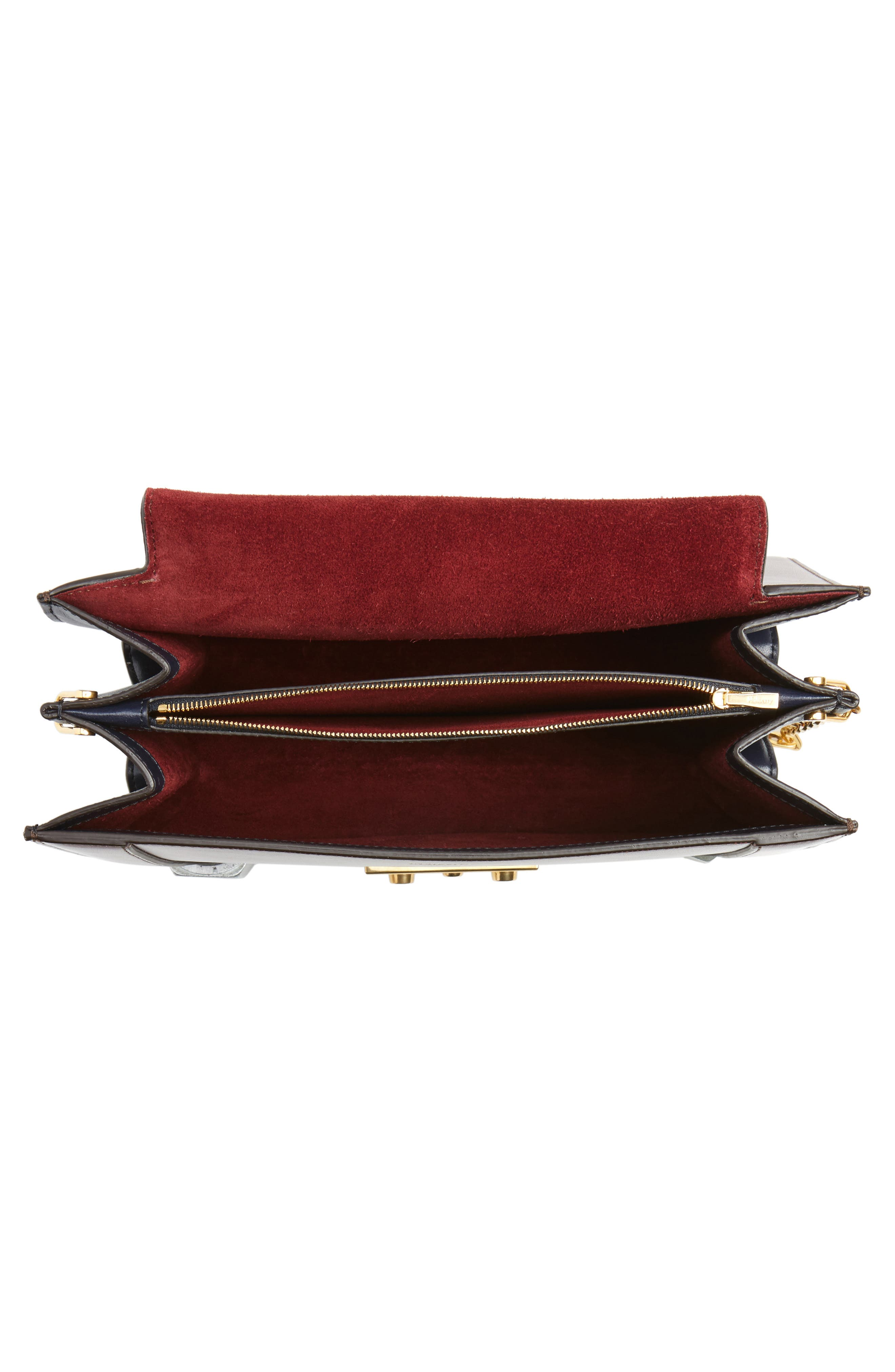 Alternate Image 4  - Mulberry Pembroke Color Block Leather Shoulder Bag