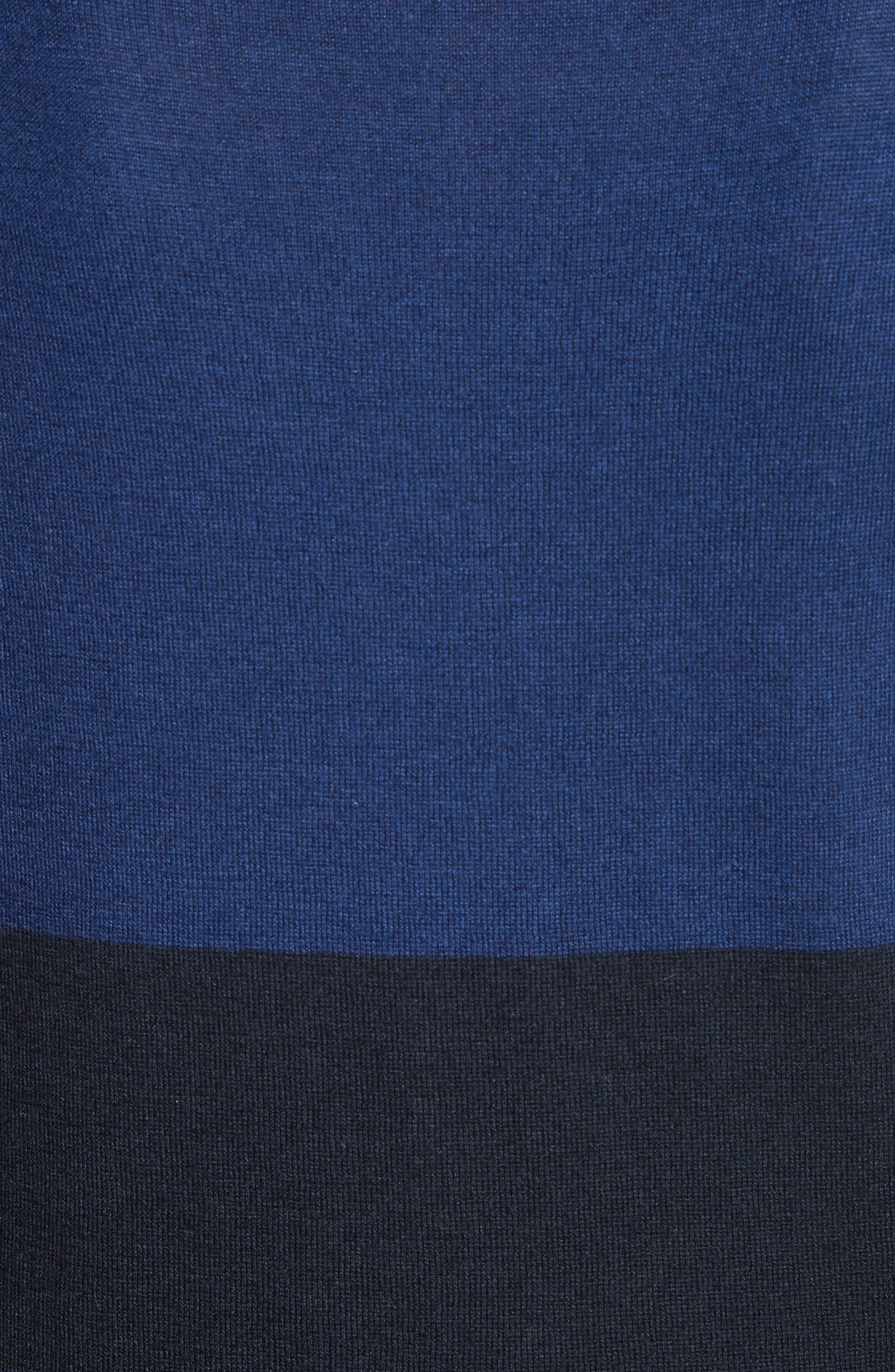 Colimbo Silk & Cashmere Top,                             Alternate thumbnail 3, color,                             Ultra Marine