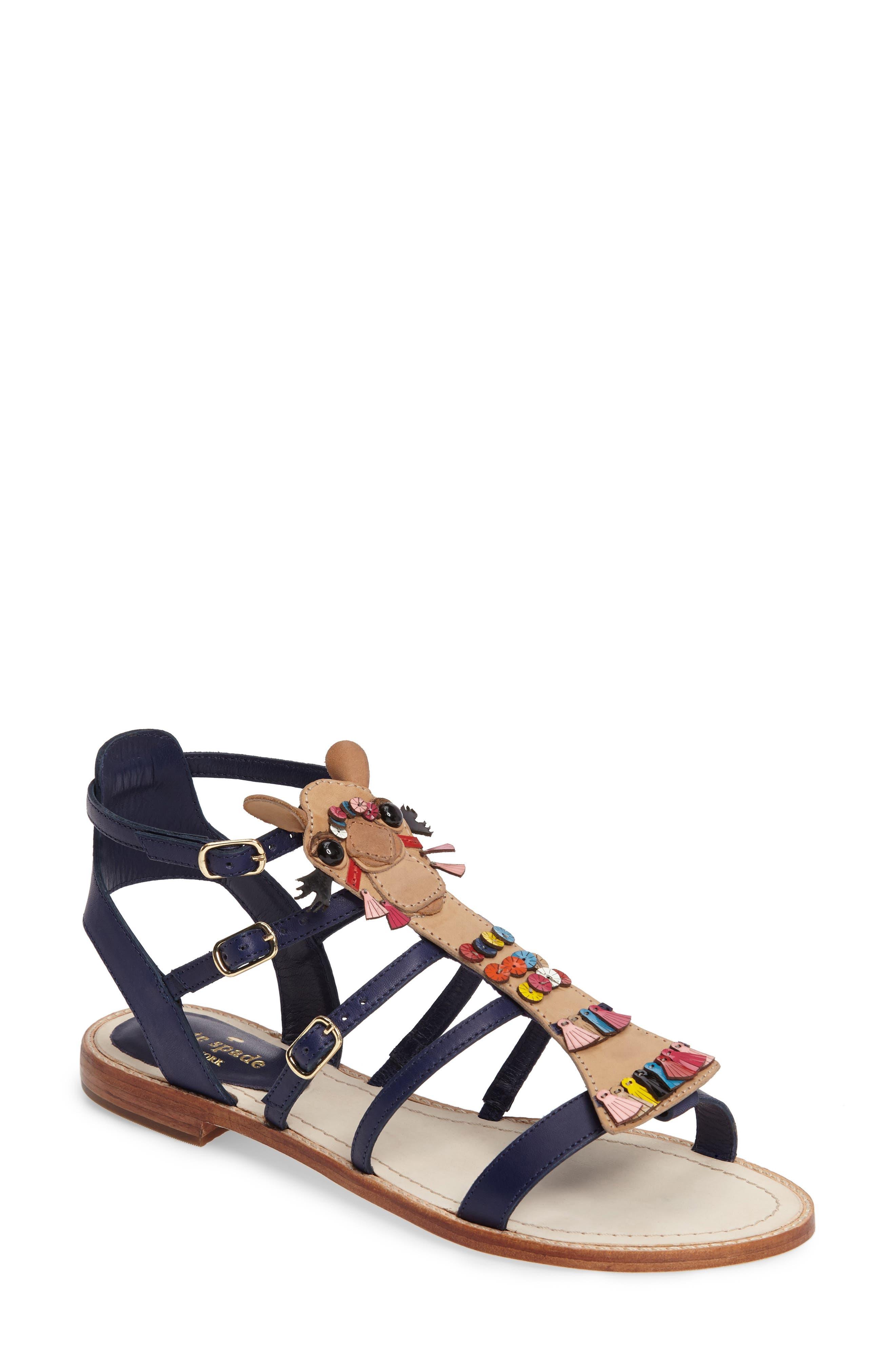 KATE SPADE NEW YORK sahara flat sandal