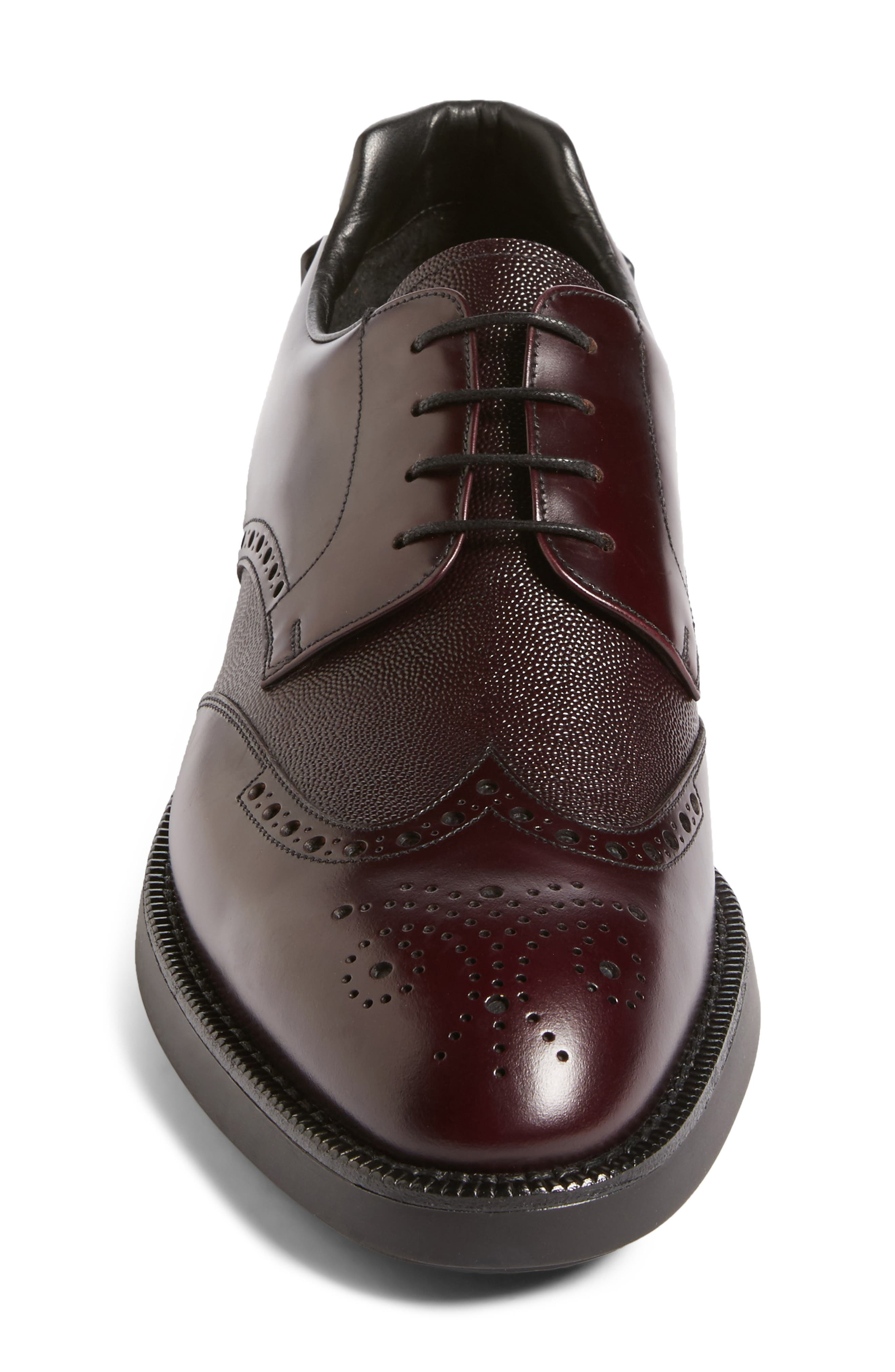 Alternate Image 4  - Prada Wingtip (Men)