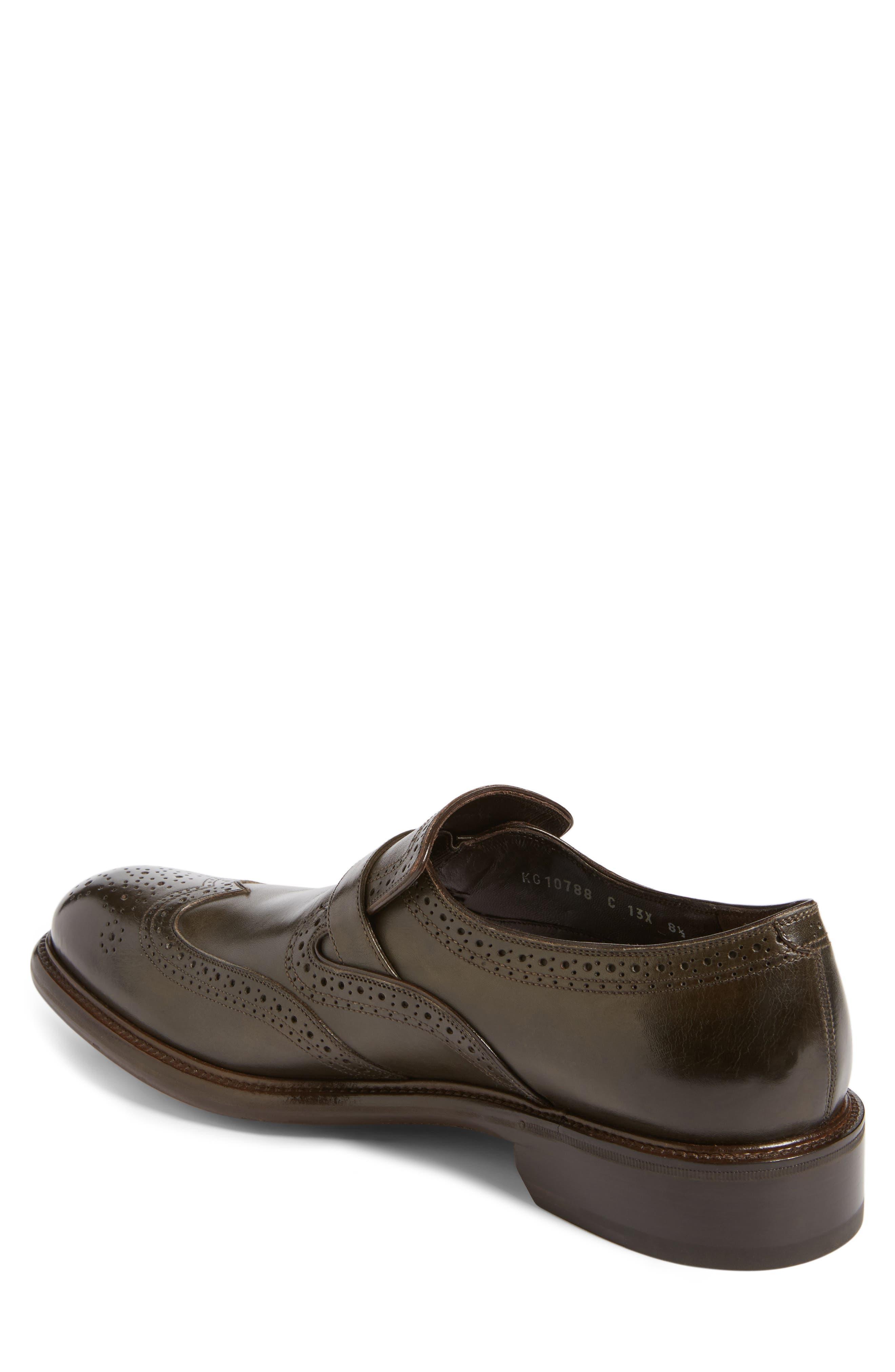 Alternate Image 2  - Salvatore Ferragamo Monk Strap Shoe (Men)
