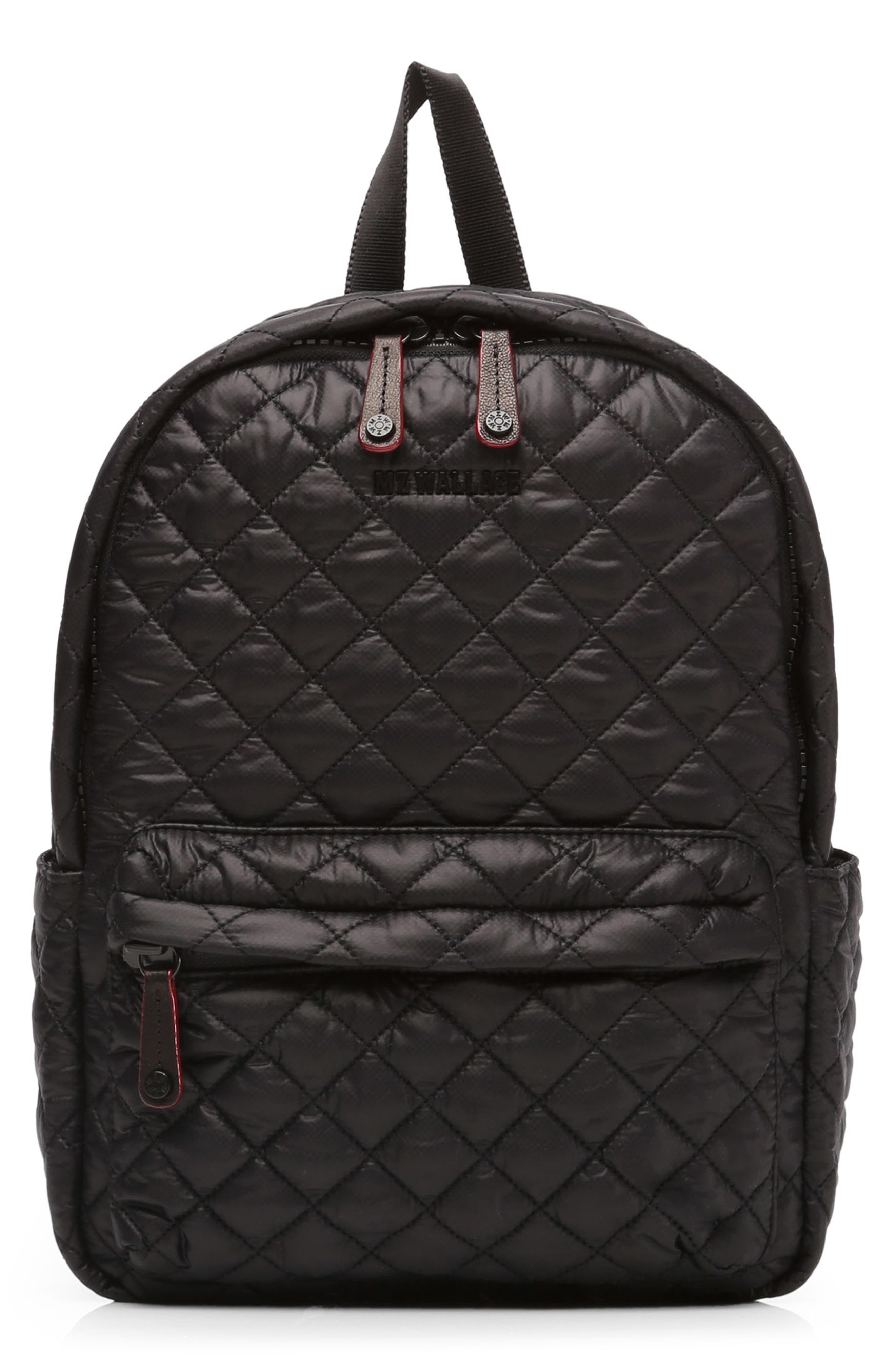 MZ WALLACE Small Metro Quilted Oxford Nylon Backpack