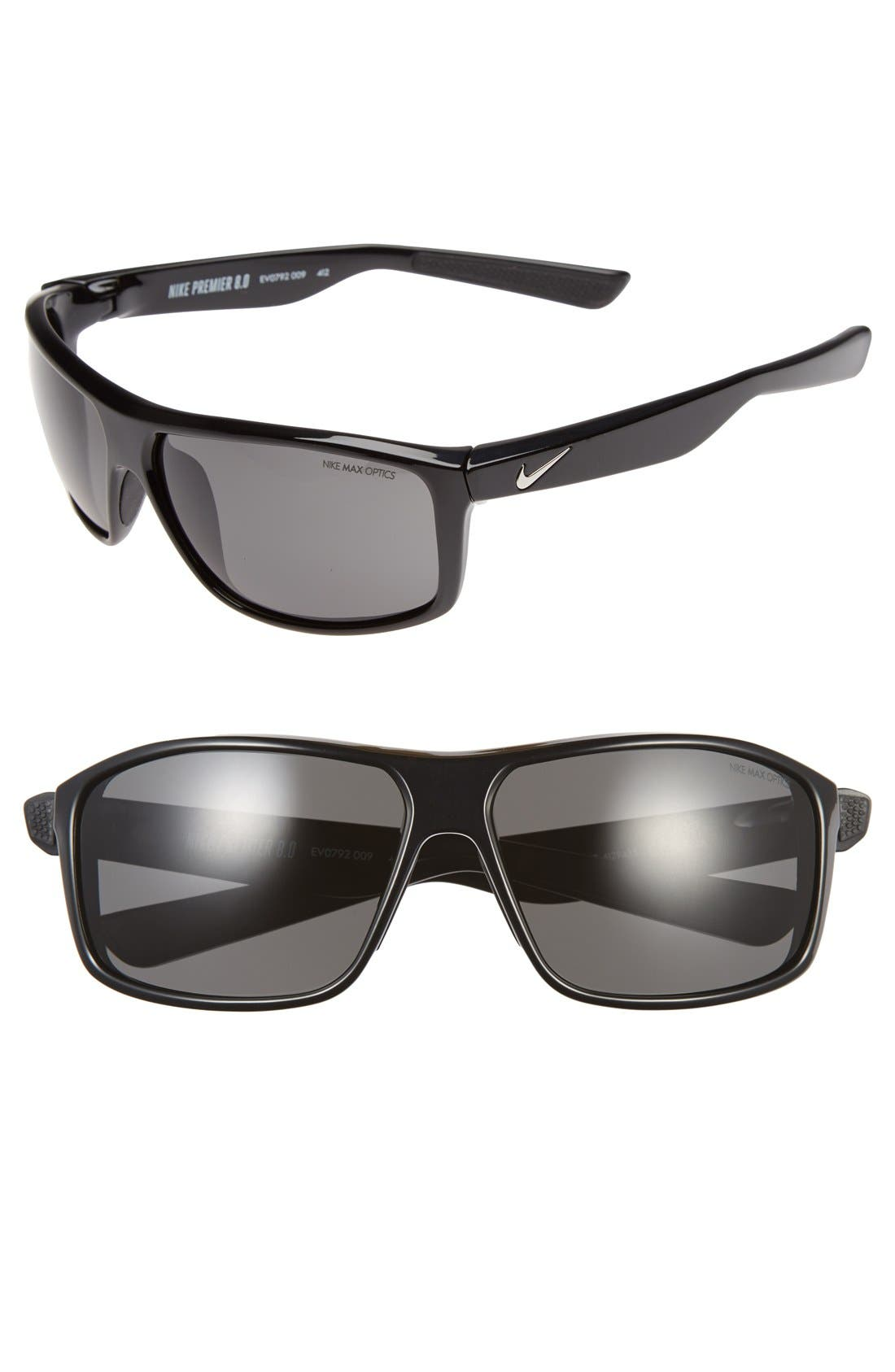 NIKE Premier 8.0 63mm Sunglasses