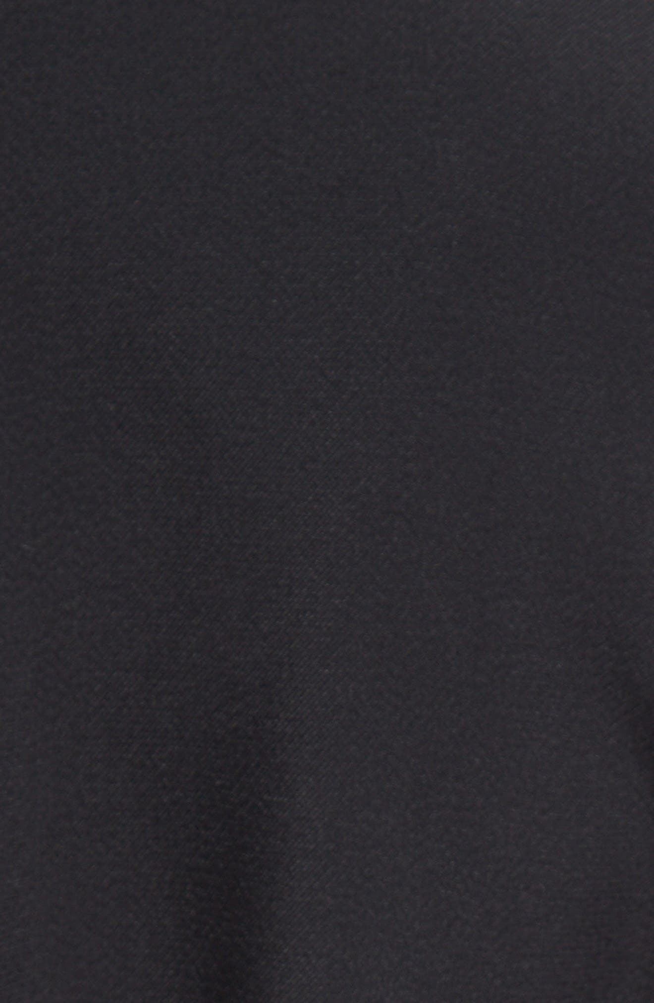 Cady Bell Sleeve Dress,                             Alternate thumbnail 3, color,                             Black