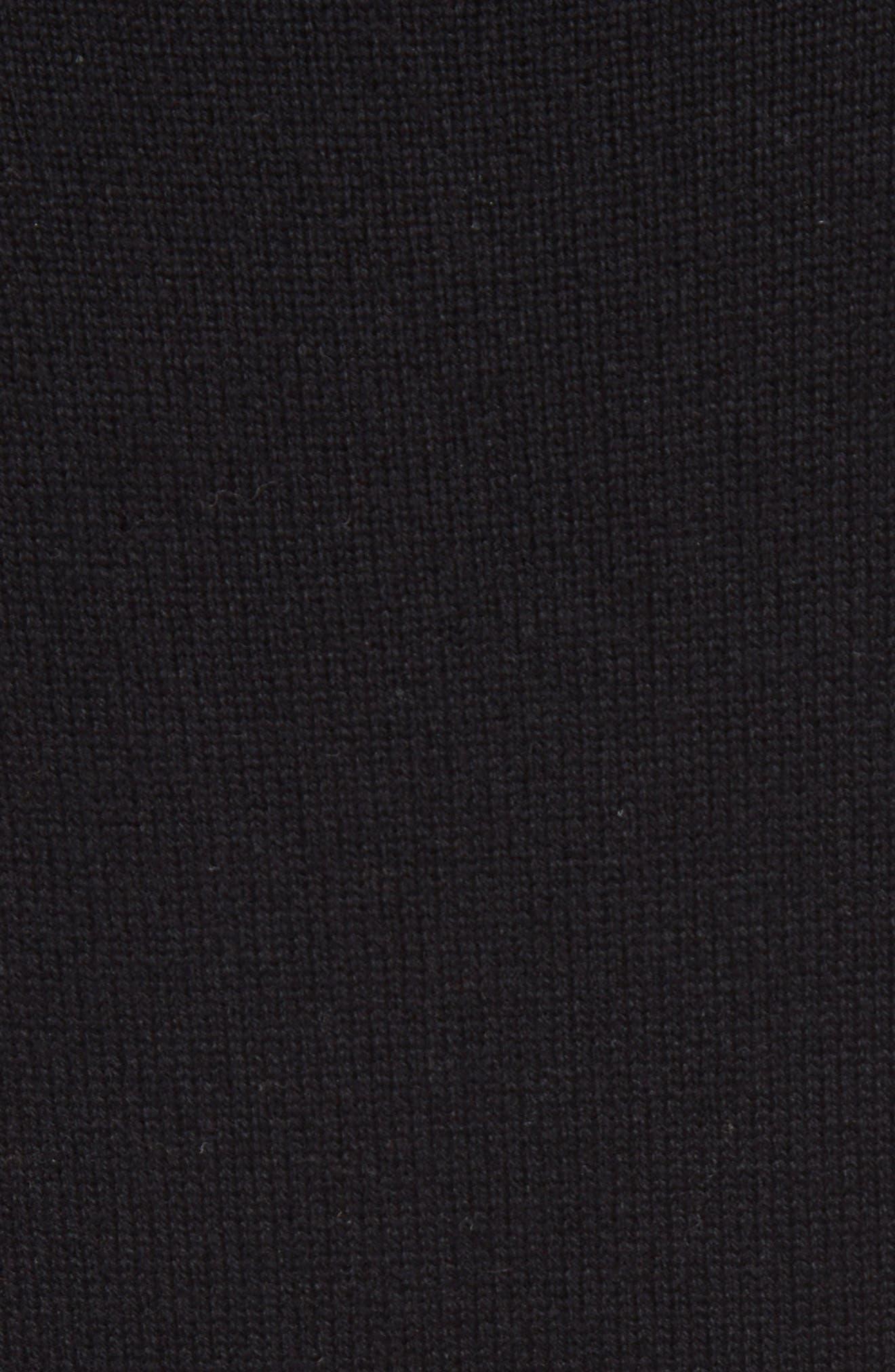 Alternate Image 3  - Chloé Cashmere Pleated Turtleneck Dress