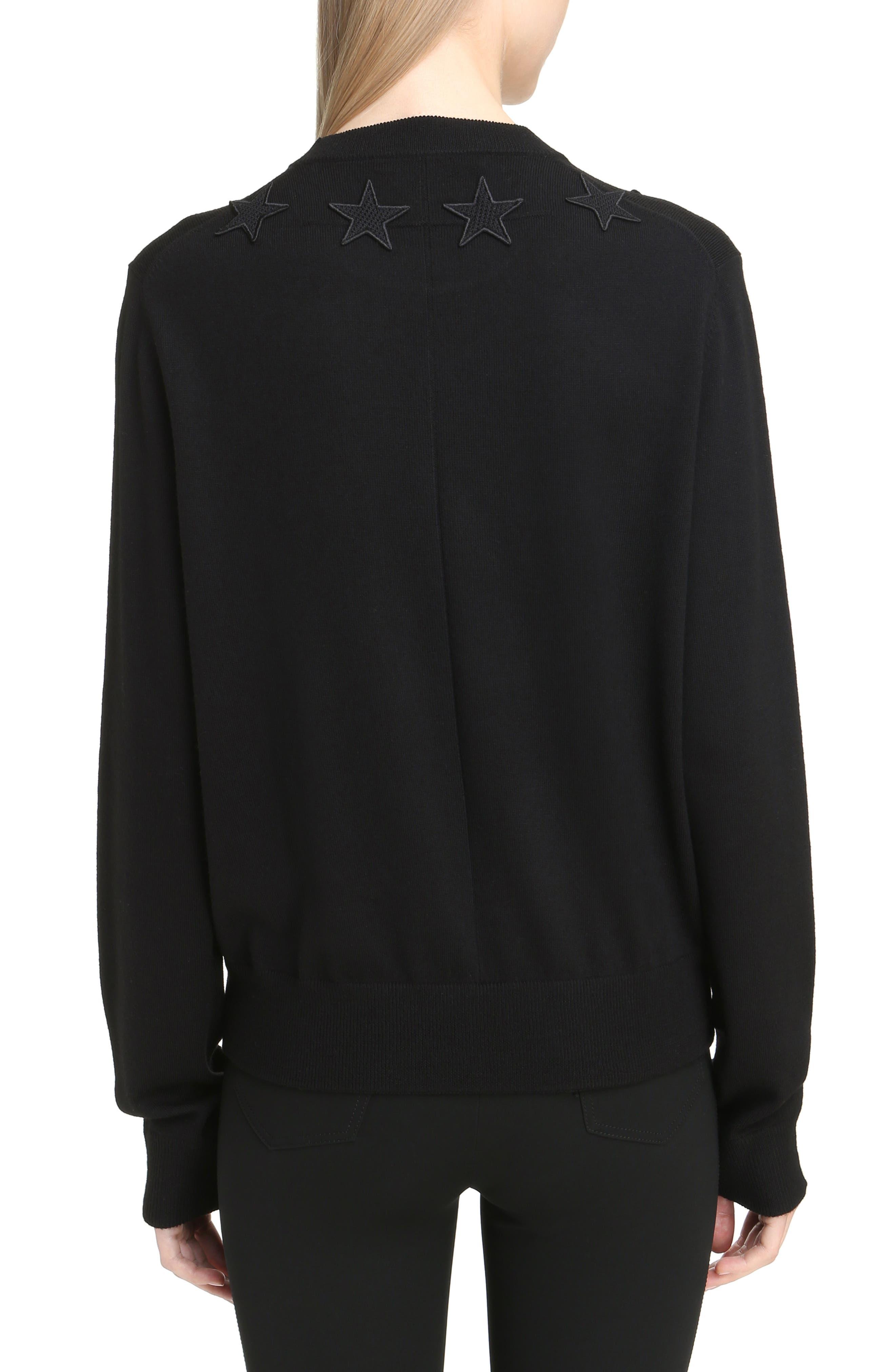 Alternate Image 2  - Givenchy Star Embellished Wool Sweater