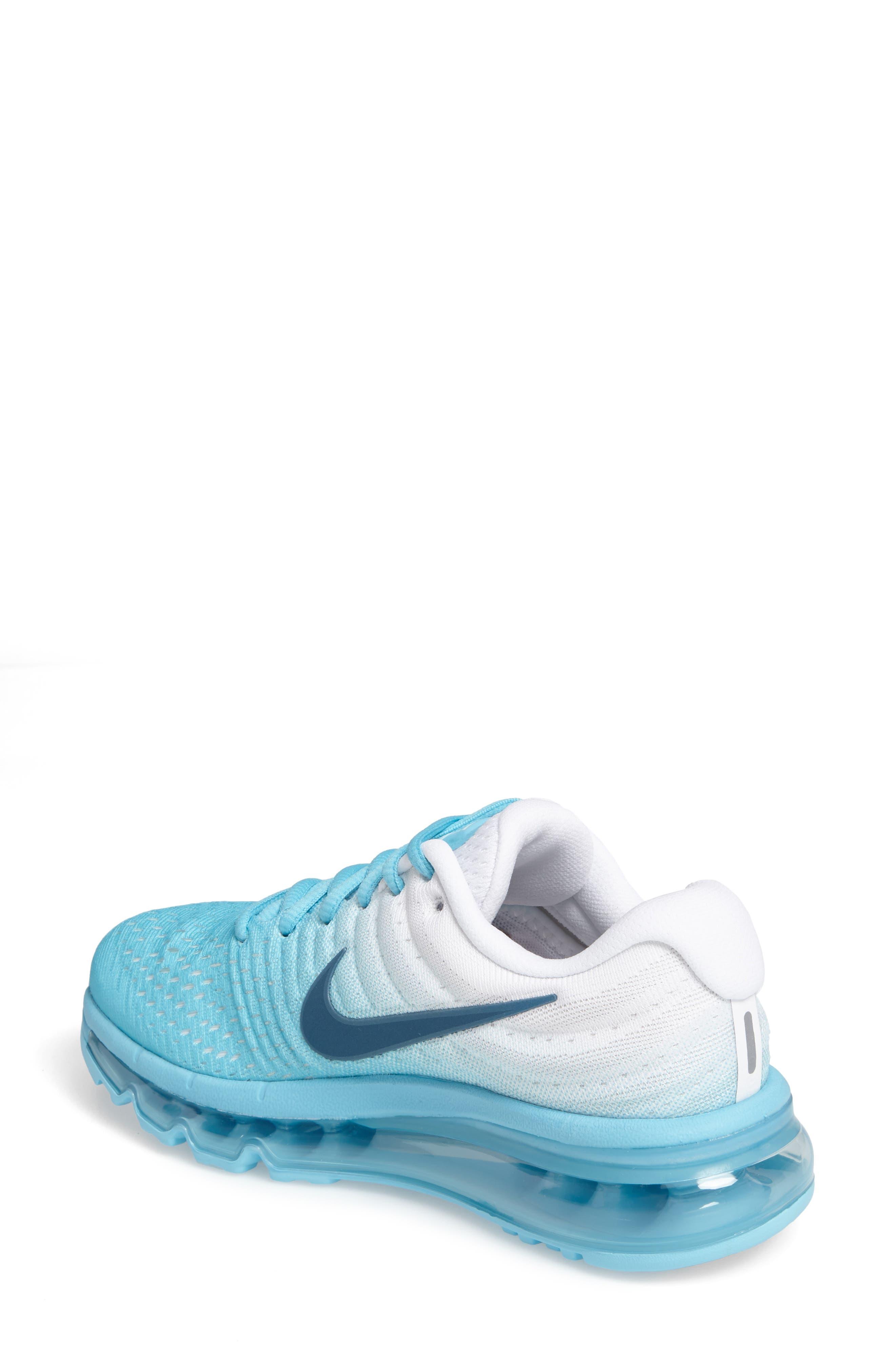 Alternate Image 2  - Nike Air Max 2017 Running Shoe (Women)