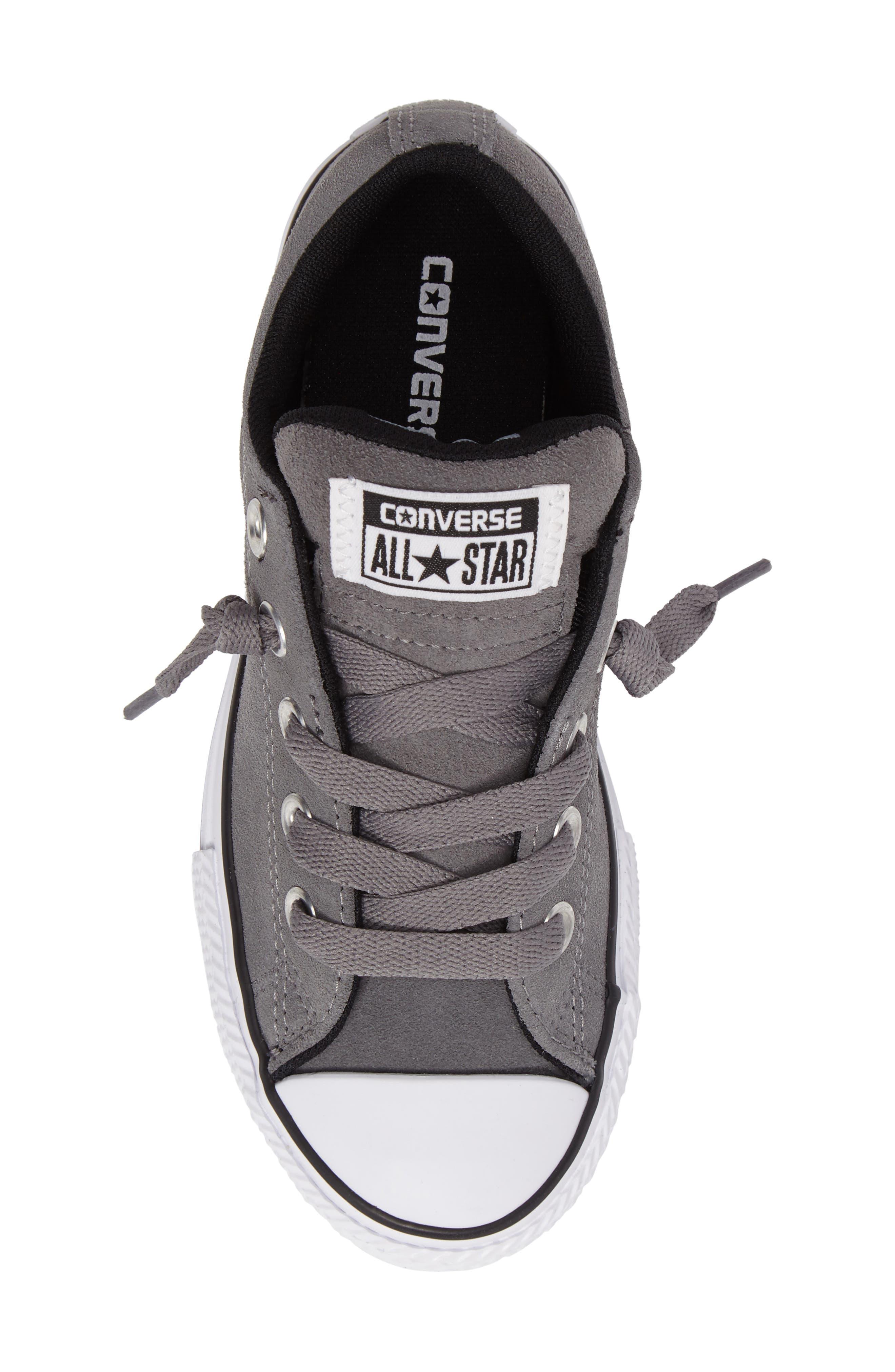 Chuck Taylor<sup>®</sup> All Star<sup>®</sup> Street Sneaker,                             Alternate thumbnail 5, color,                             Mason/ Black/ White