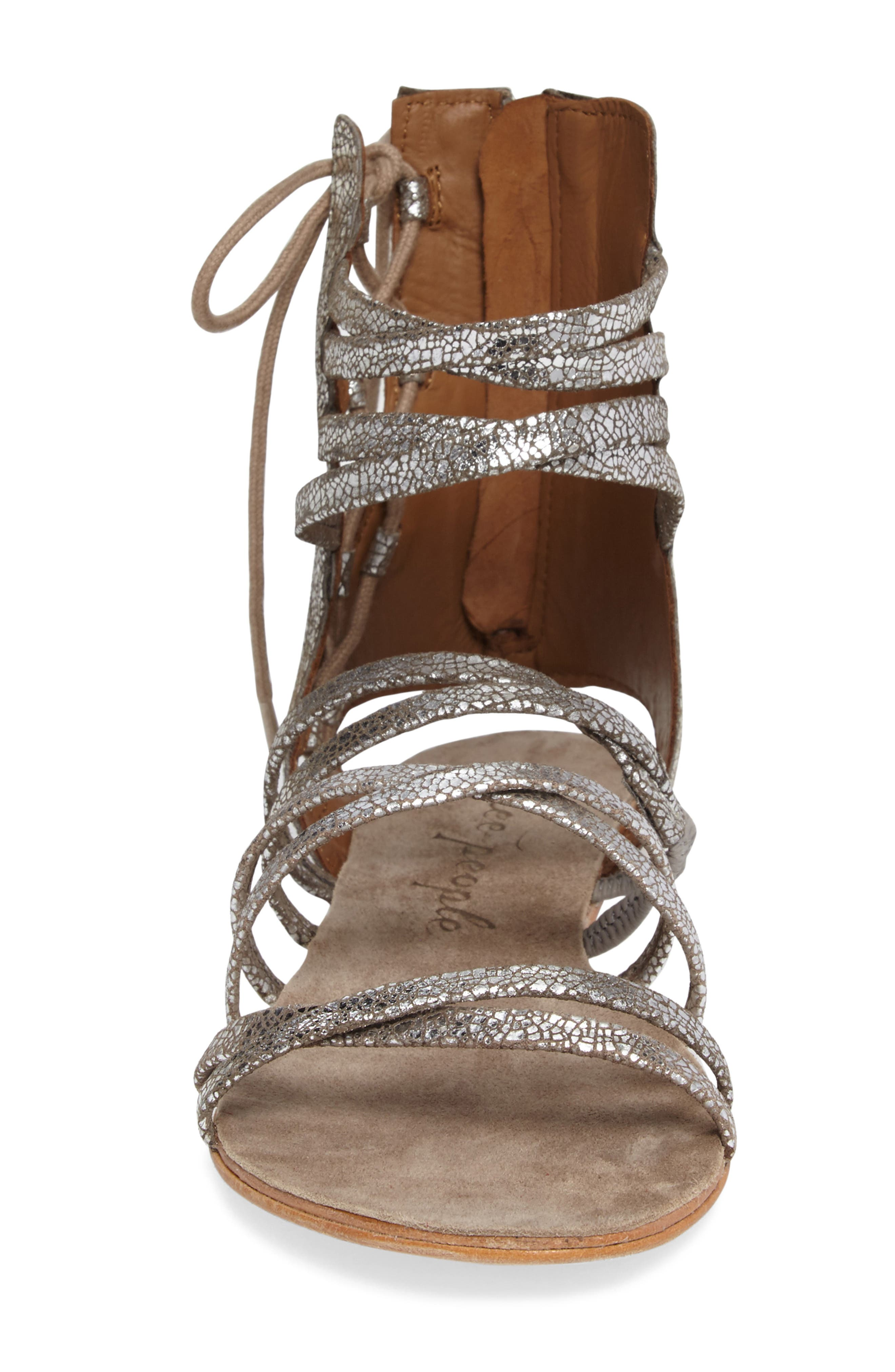 Alternate Image 4  - Free People Juliette Gladiator Sandal (Women)