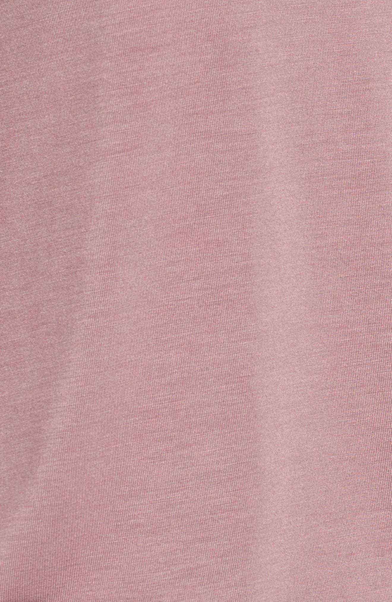 Alternate Image 5  - Bobeau Ruffle Detail Top (Regular & Petite)