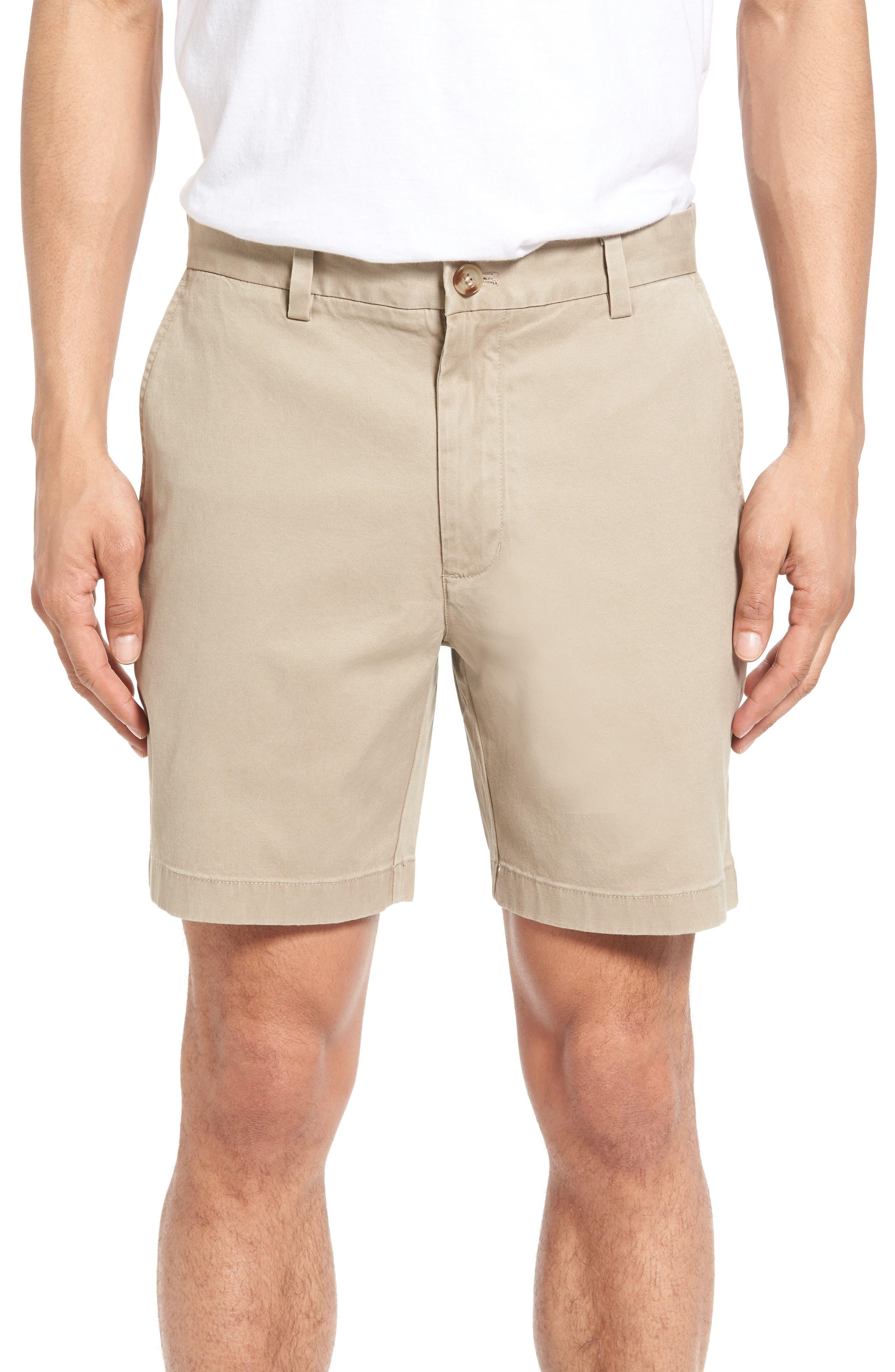 7 Inch Breaker Stretch Shorts,                         Main,                         color, Khaki