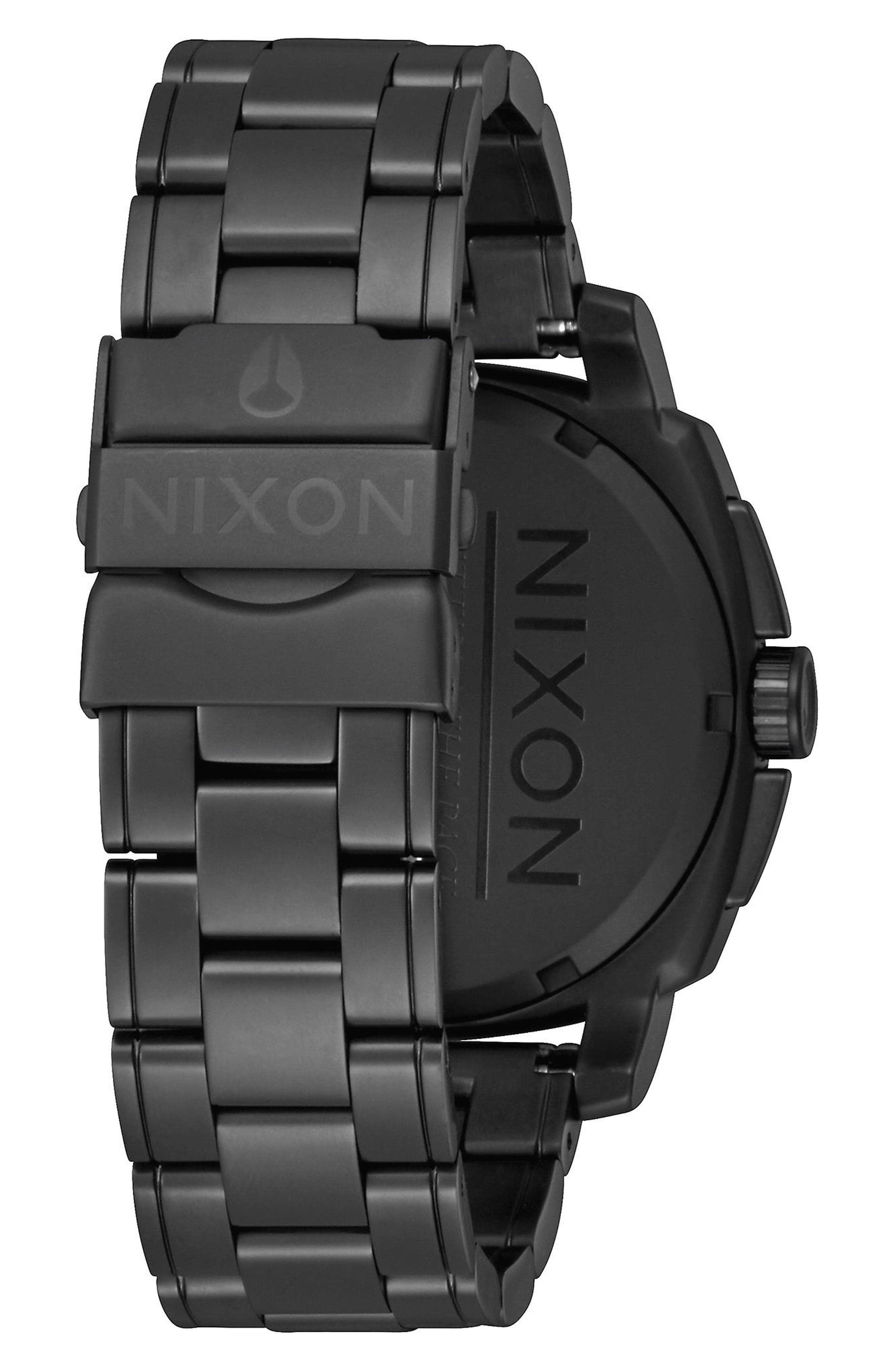 Alternate Image 2  - Nixon Charger Chronograph Bracelet Watch, 42mm