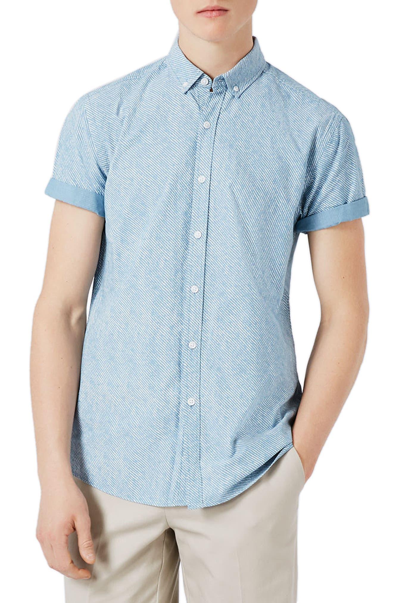 Topman Stripe Shirt