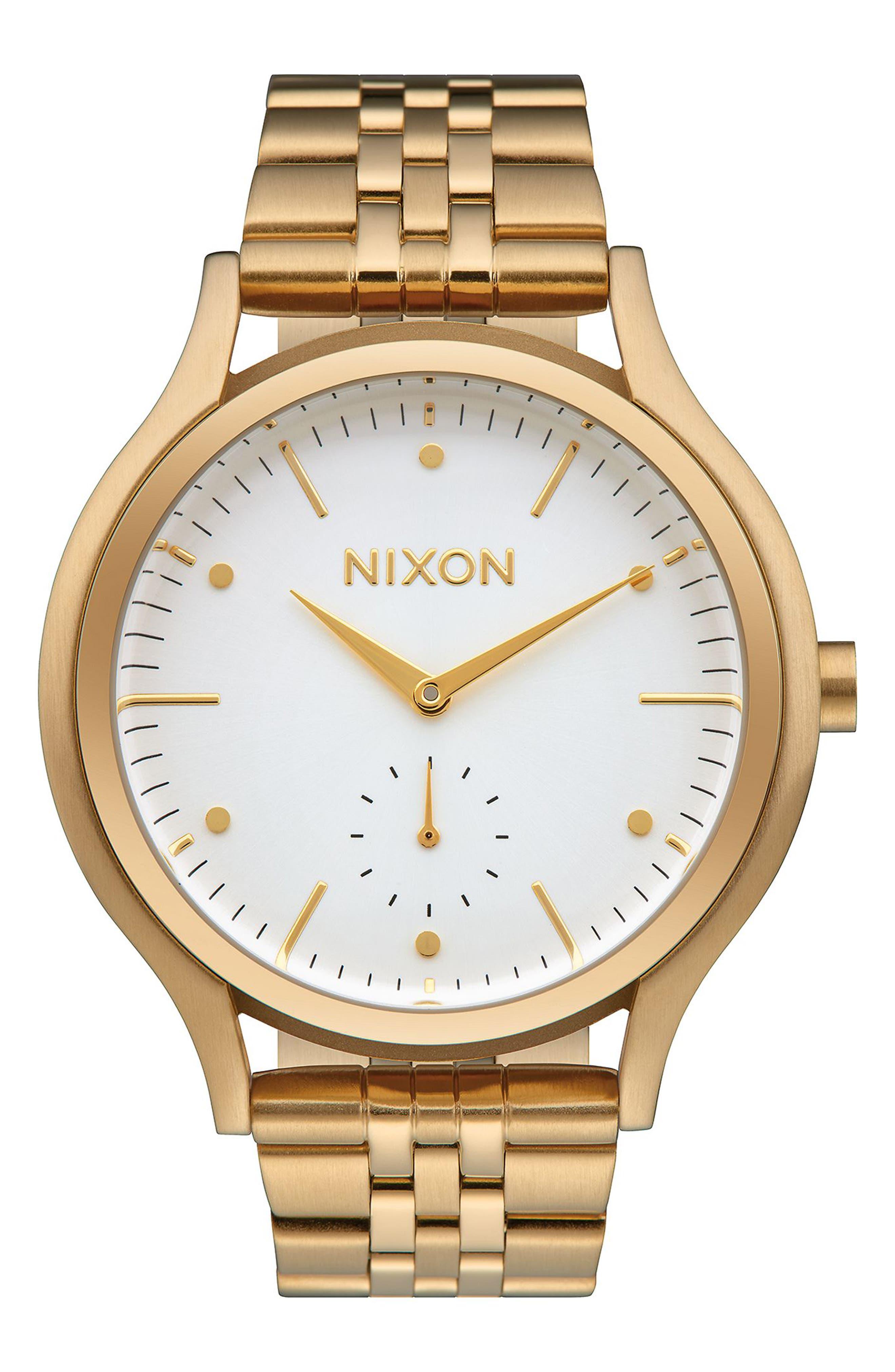 Sala Bracelet Watch, 38mm,                         Main,                         color, Gold/ White/ Gold