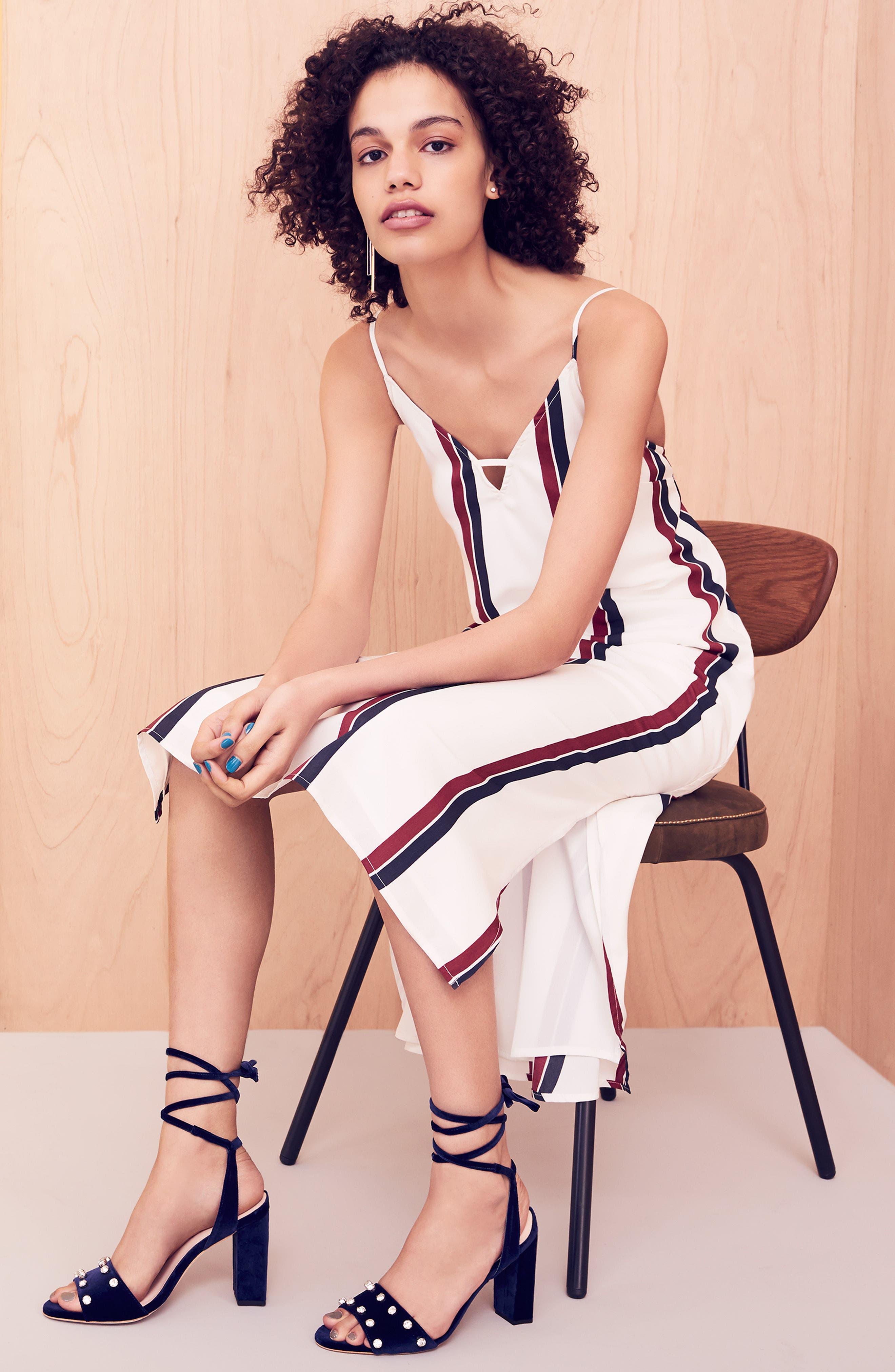 Alternate Image 2  - Loeffler Randall Elayna Ankle Wrap Sandal (Women)