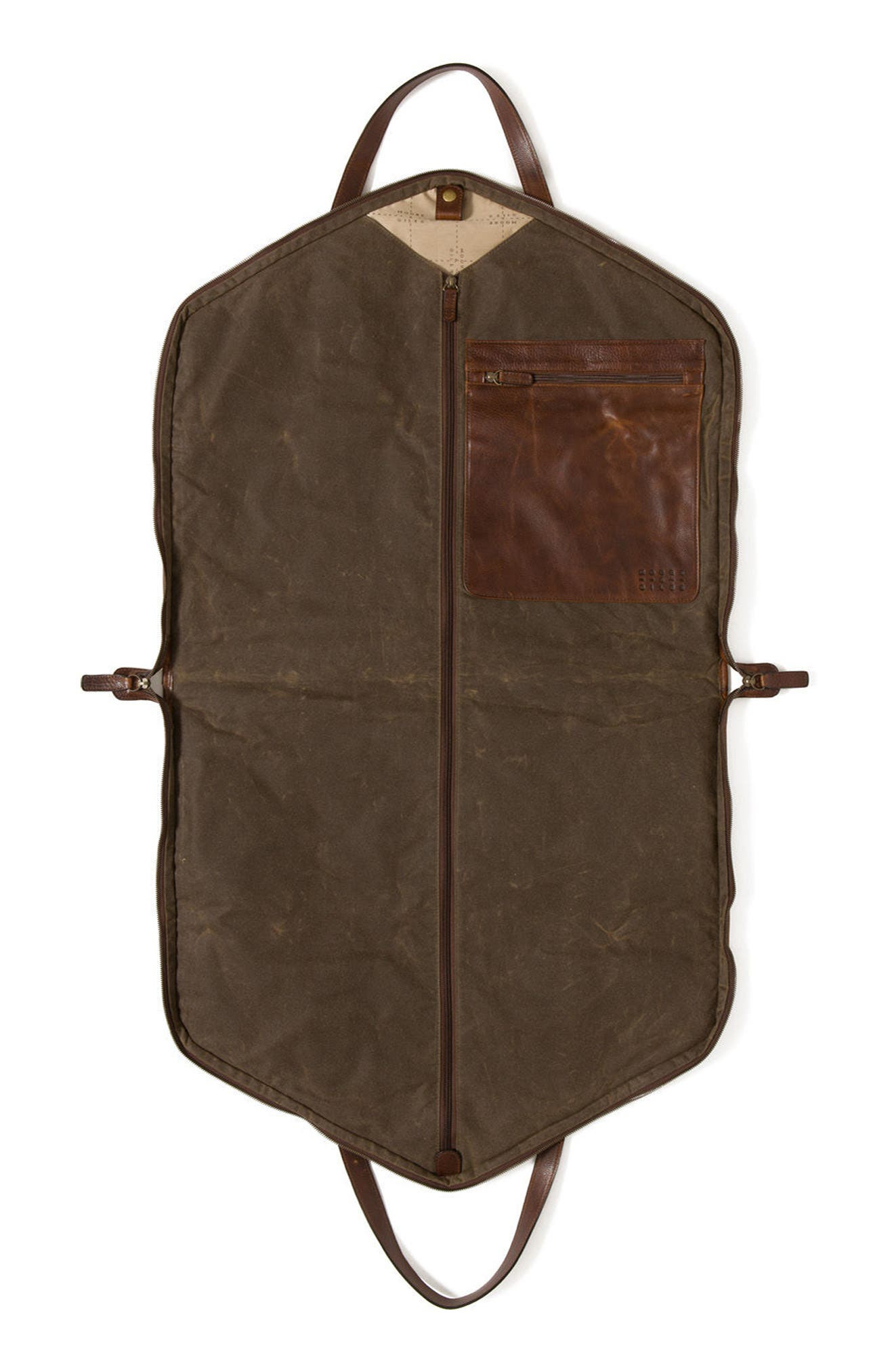 Stanley Garment Bag,                             Alternate thumbnail 4, color,                             Waxwear Rangertan