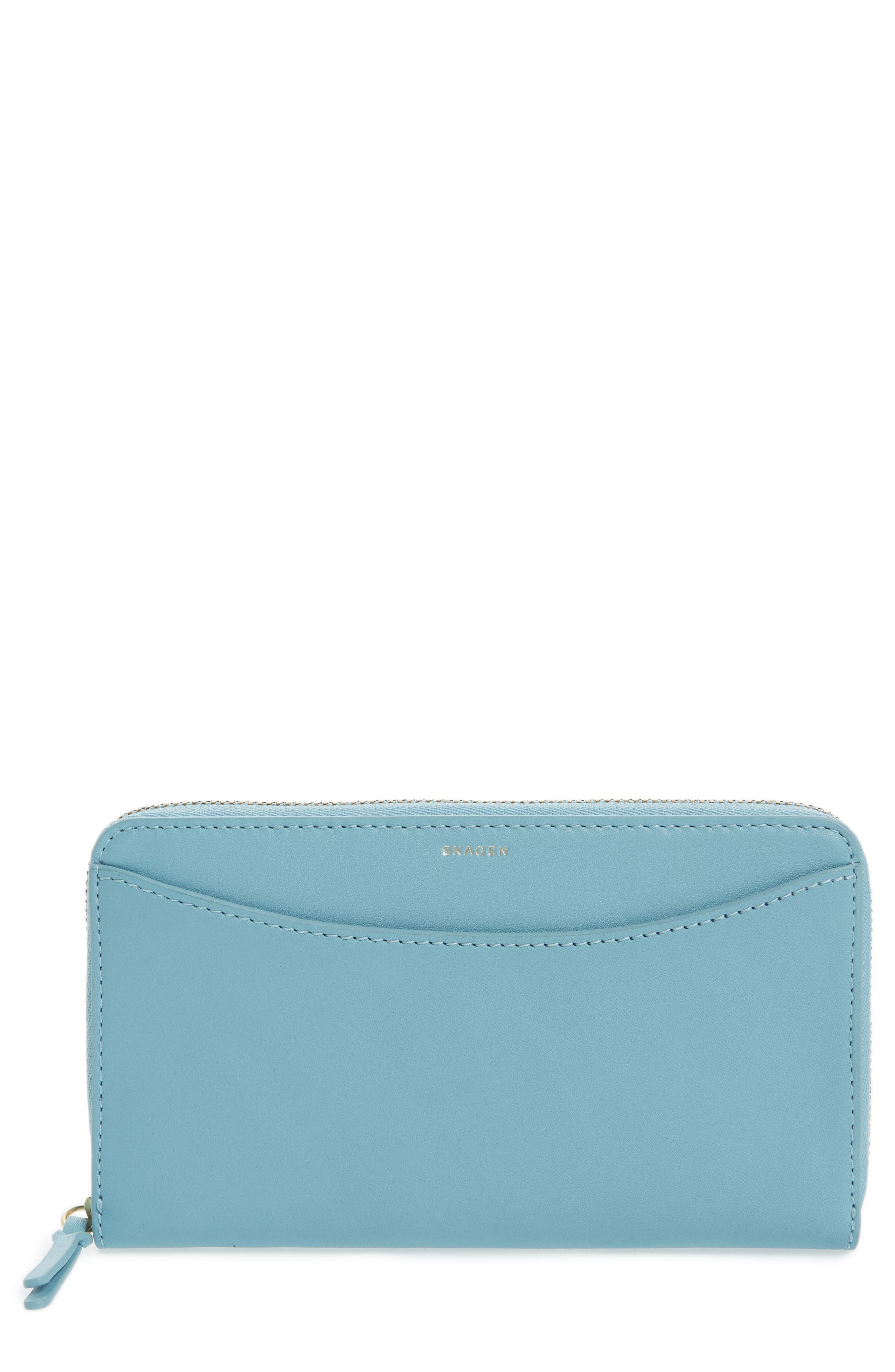 Alternate Image 1 Selected - Skagen Leather Continental Wallet