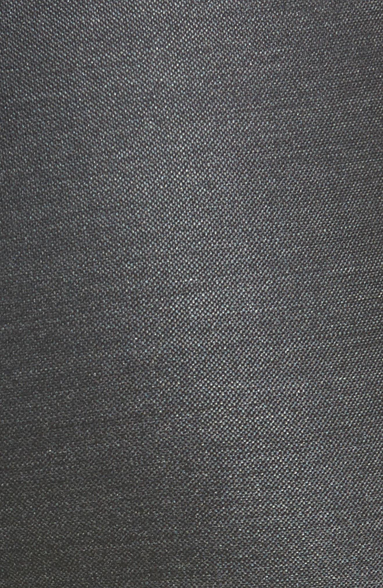 Alternate Image 5  - St. John Collection Stretch Birdseye Skinny Pants