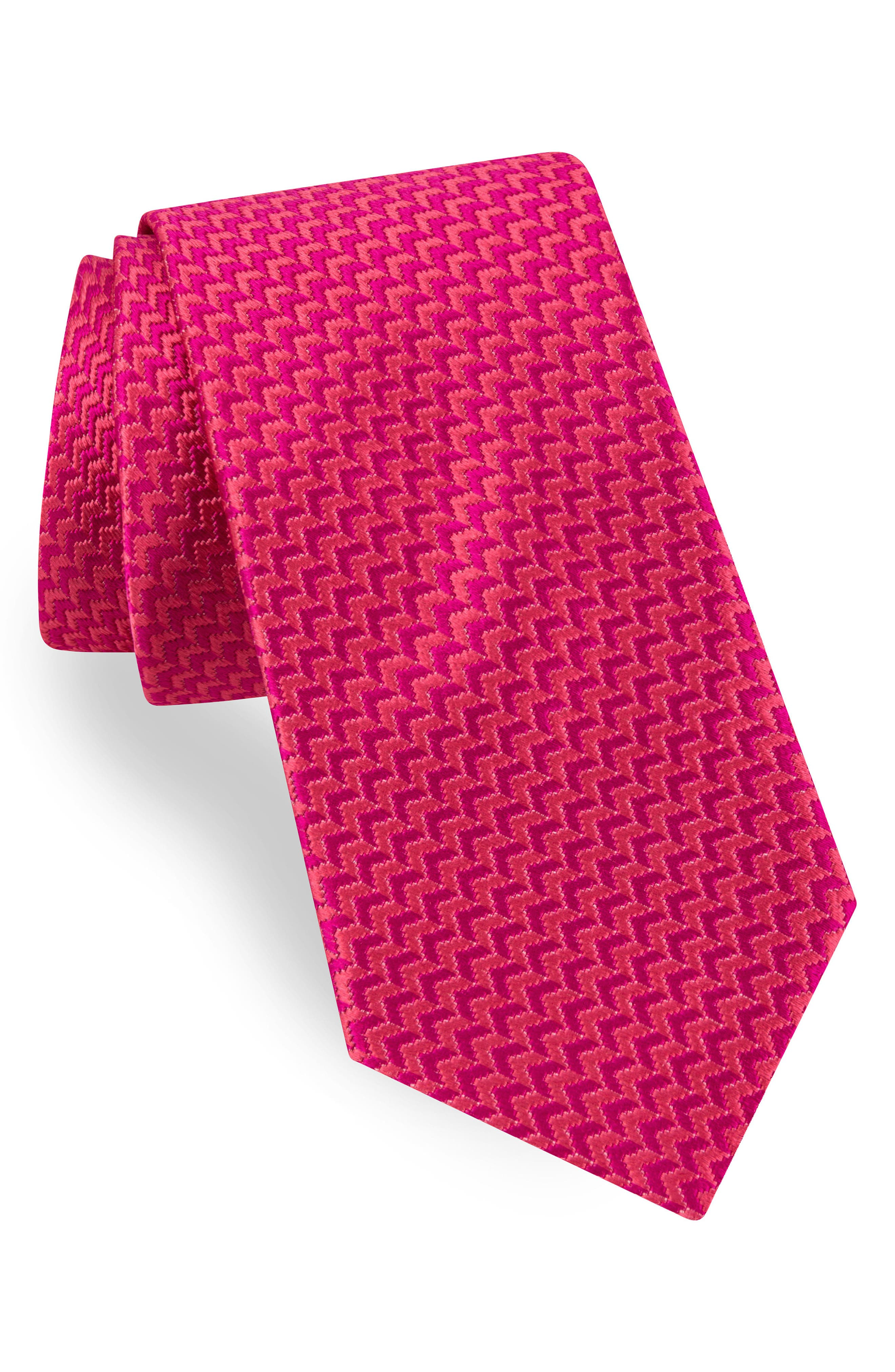 Main Image - Ted Baker London Solid Silk & Cotton Tie